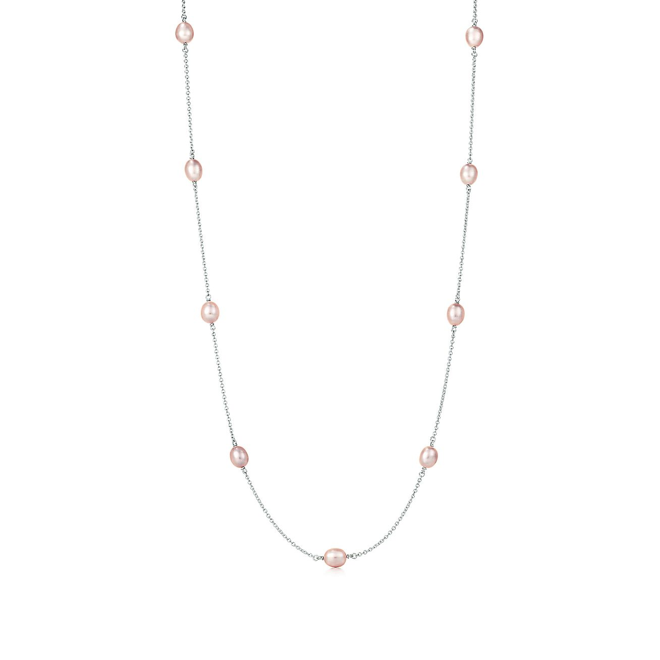 Elsa Peretti 174 Pearls By The Yard Necklace In Sterling
