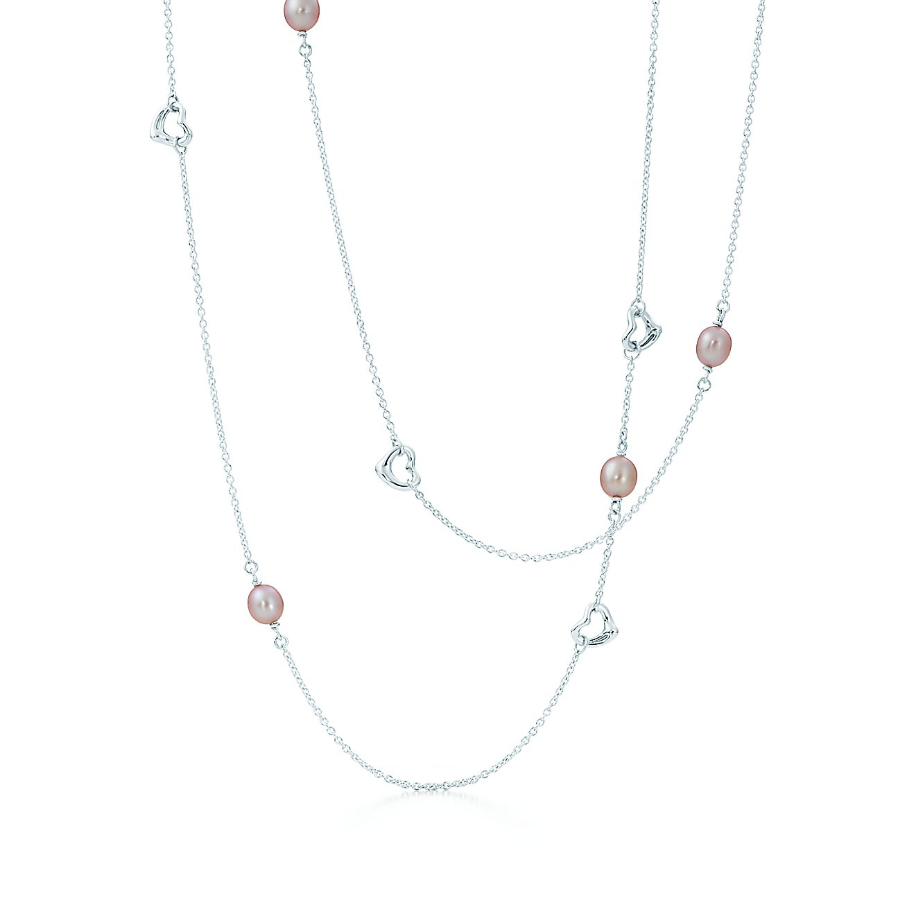 Elsa Peretti®:Pearls by the Yard™<br>Open Heart Necklace