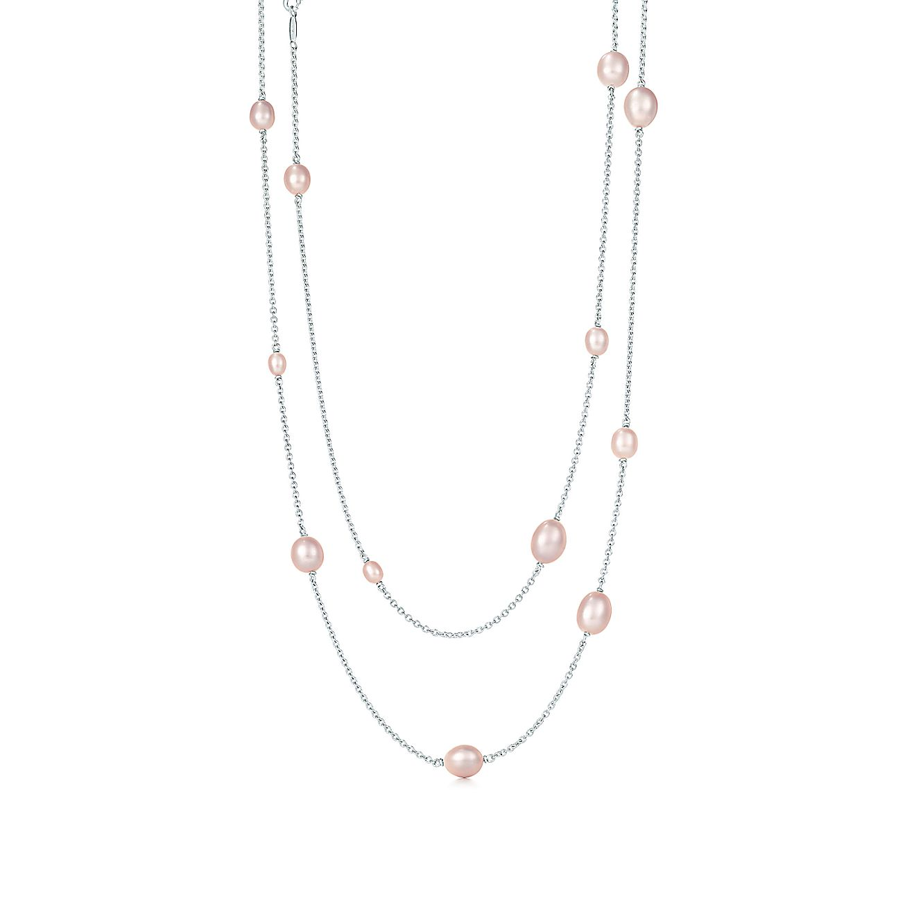 Elsa Peretti 174 Pearls By The Yard Sprinkle Necklace Of
