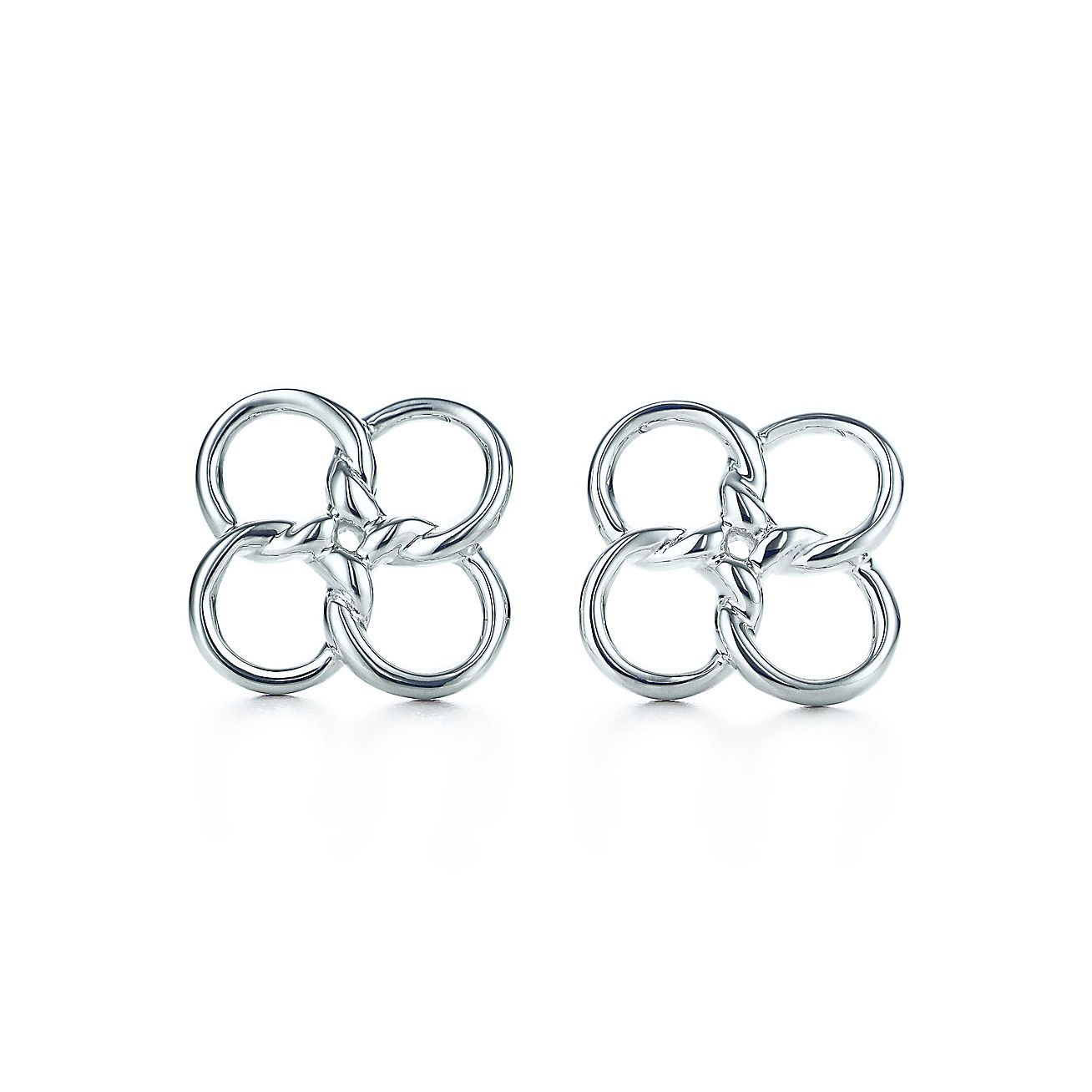 Elsa Peretti®:Quadrifoglio™ Earrings