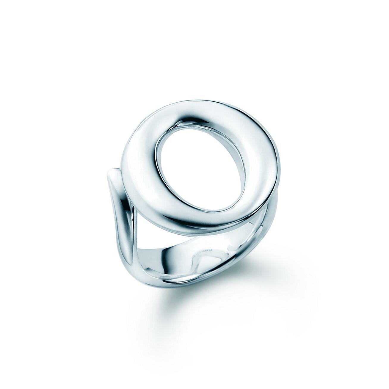 elsa peretti sevillana ring in sterling silver small tiffany co. Black Bedroom Furniture Sets. Home Design Ideas