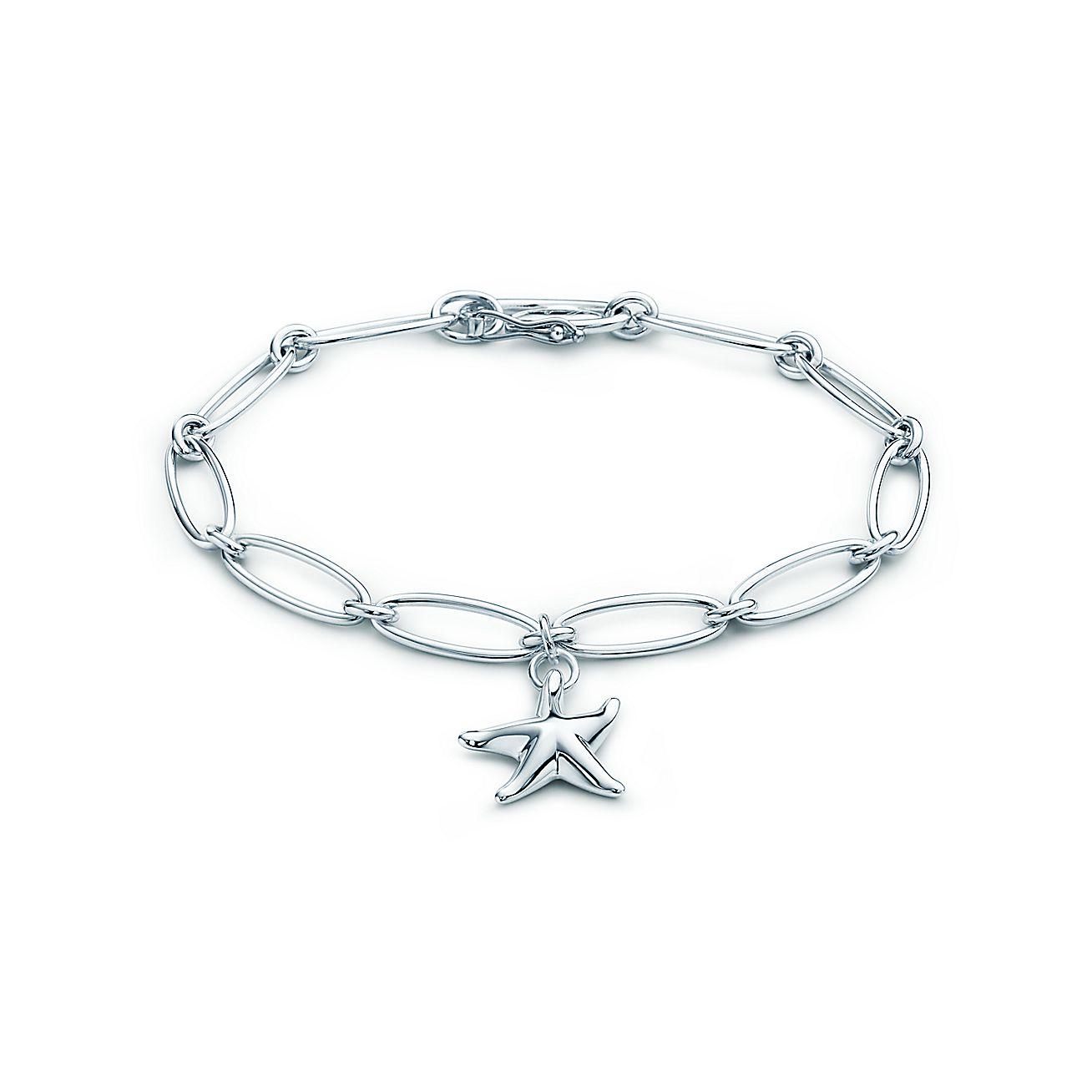 Elsa Peretti® Starfish bracelet in sterling silver, medium