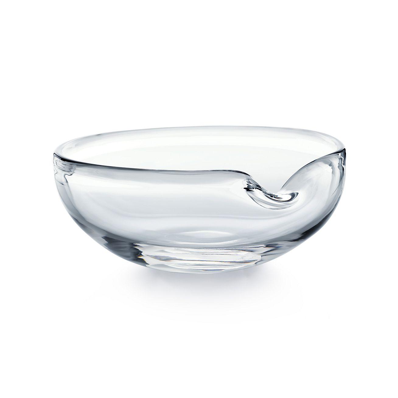 Elsa Peretti 174 Thumbprint Bowl In Glass Tiffany Amp Co