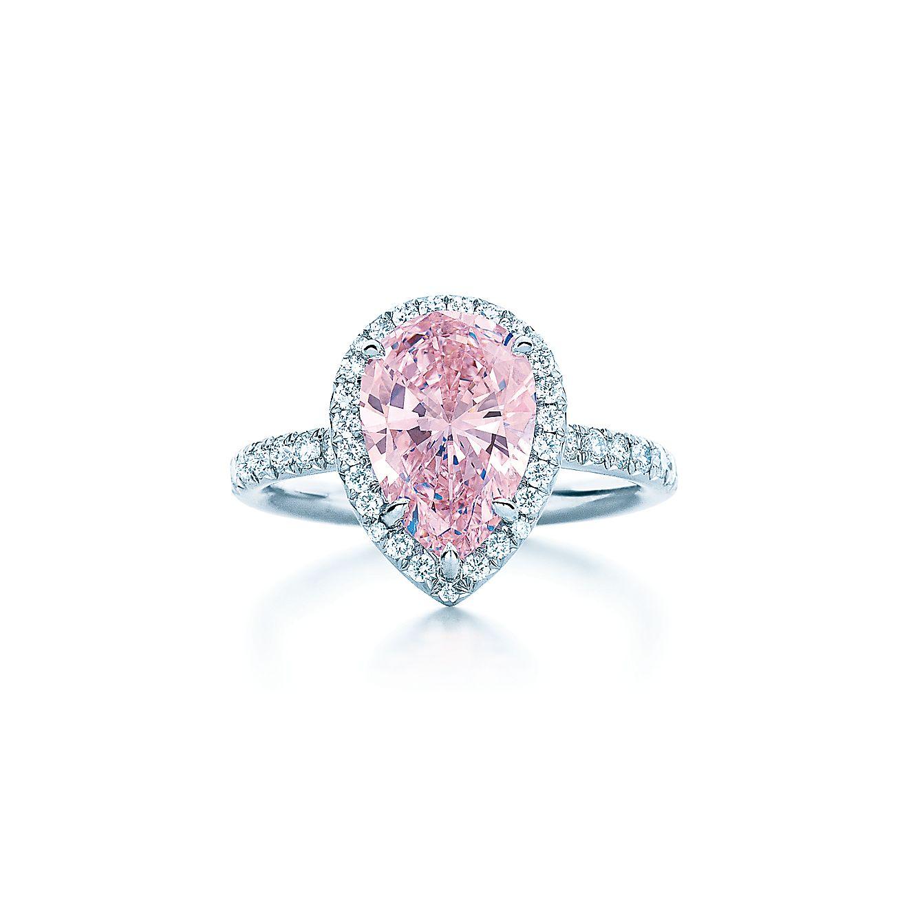 Fancy Intense Pink<br>Diamond Ring