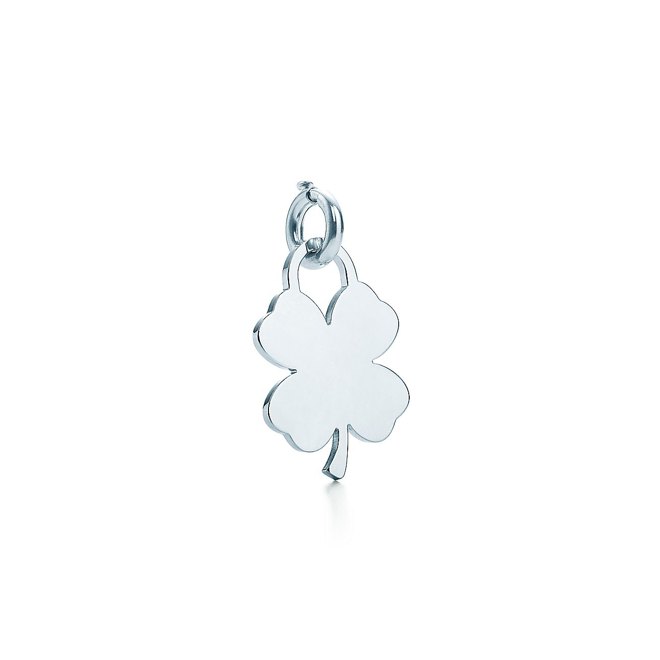 Four-leaf Clover<br>Tag Charm
