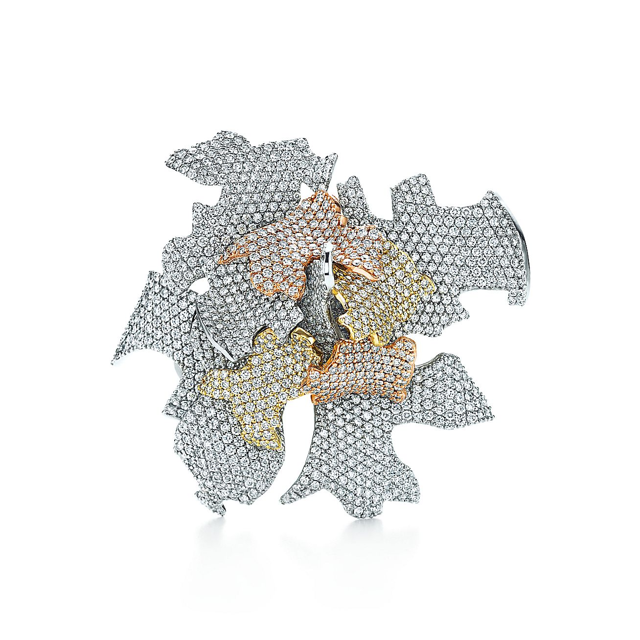 Frank Gehry®<br>Leaves brooch