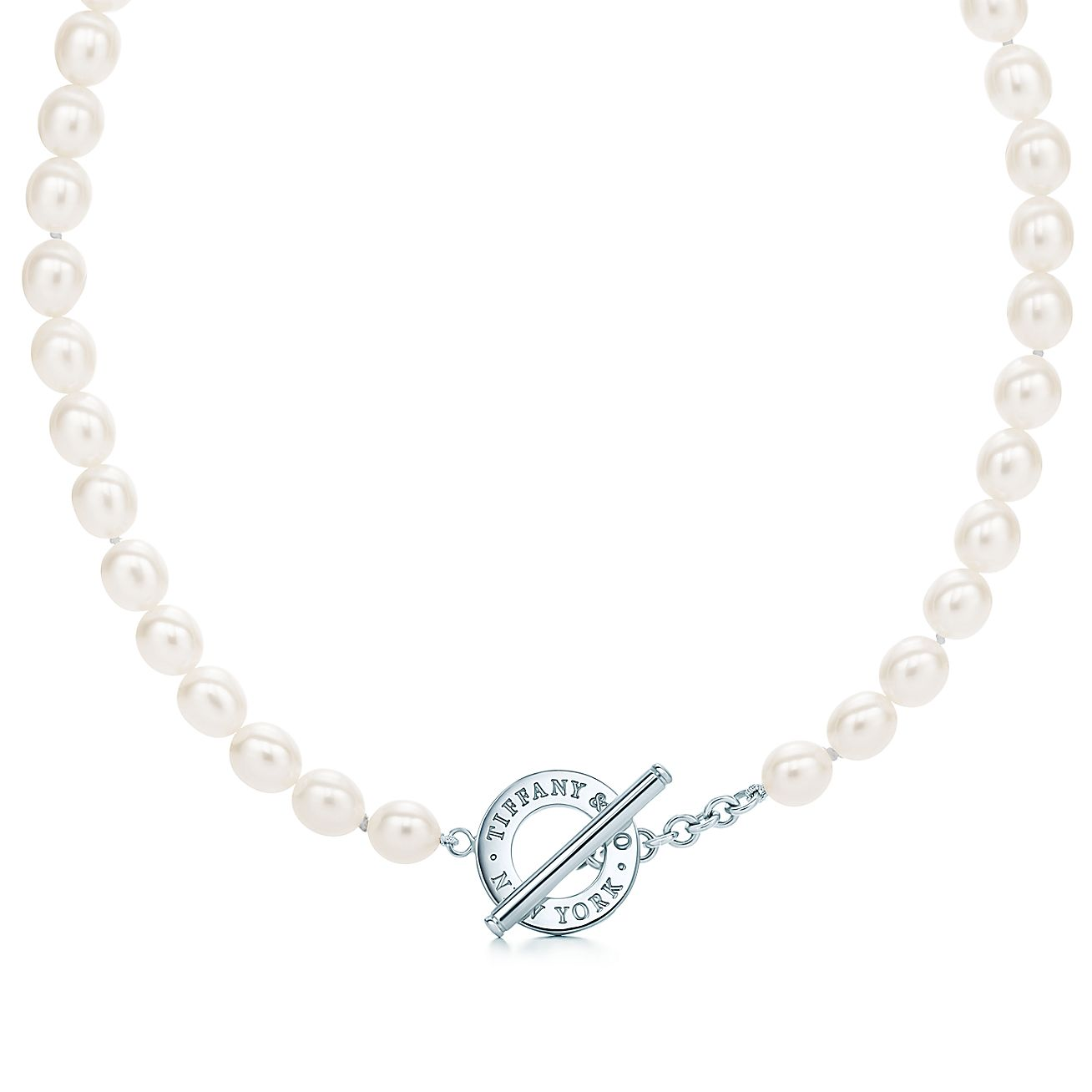 Freshwater Pearl<br>Toggle Necklace