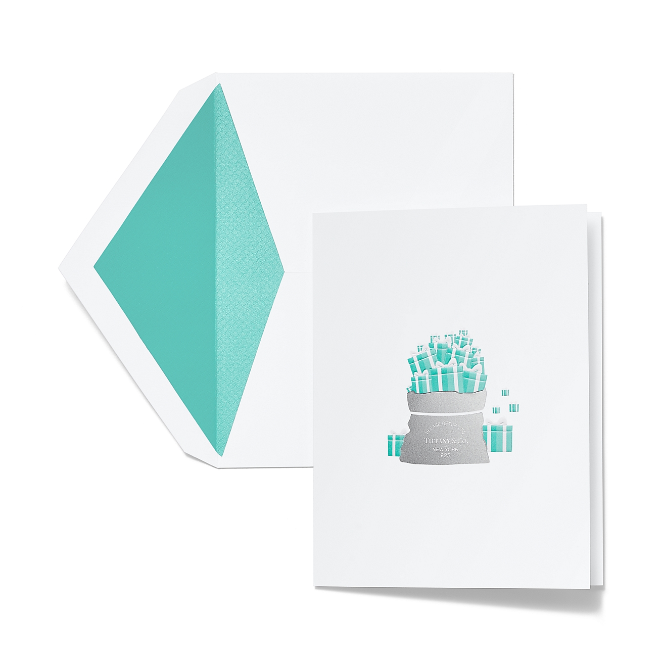 Gift bag holiday cards in cotton paper set of 10 tiffany co deletelarge gift bag holiday cards gift bag holiday cardsalternative view 1 negle Choice Image
