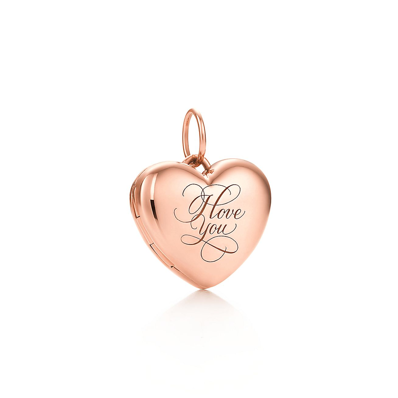 """I Love You""<br>Heart Locket"