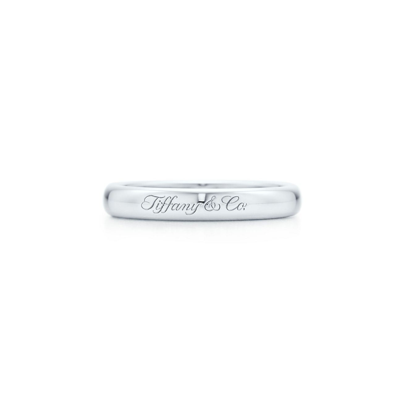 Lucida Bands: Lucida® Band Ring In Platinum With Tiffany & Co