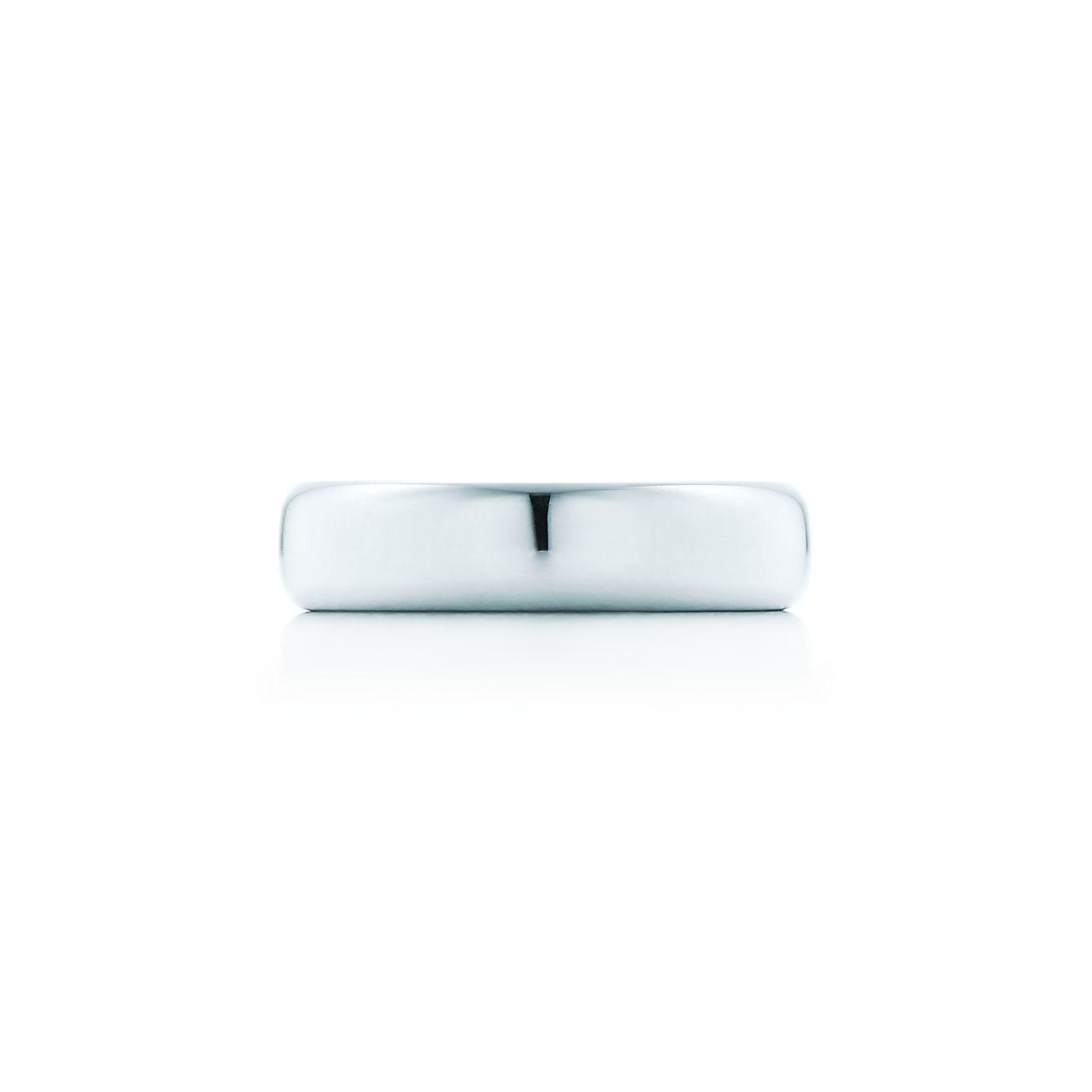 Lucida Bands: Lucida® Wedding Band Ring In Platinum, 4.5mm Wide