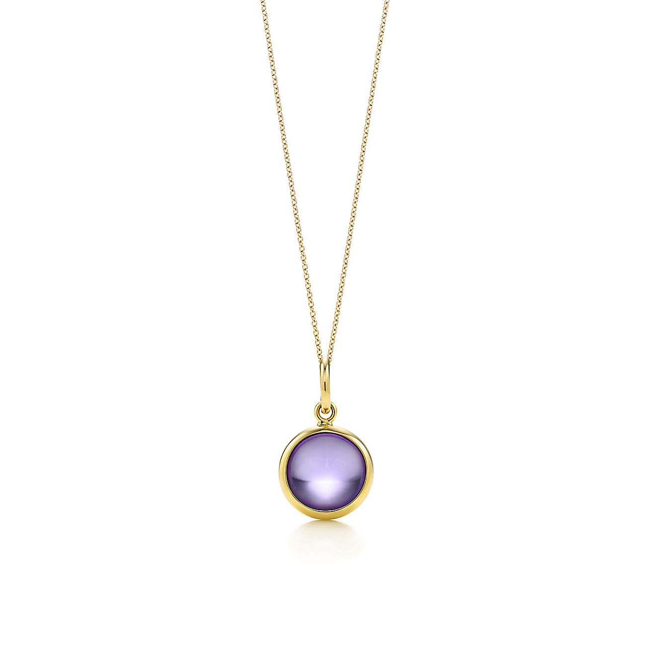 Paloma Picasso®:amethyst dot charm and chain