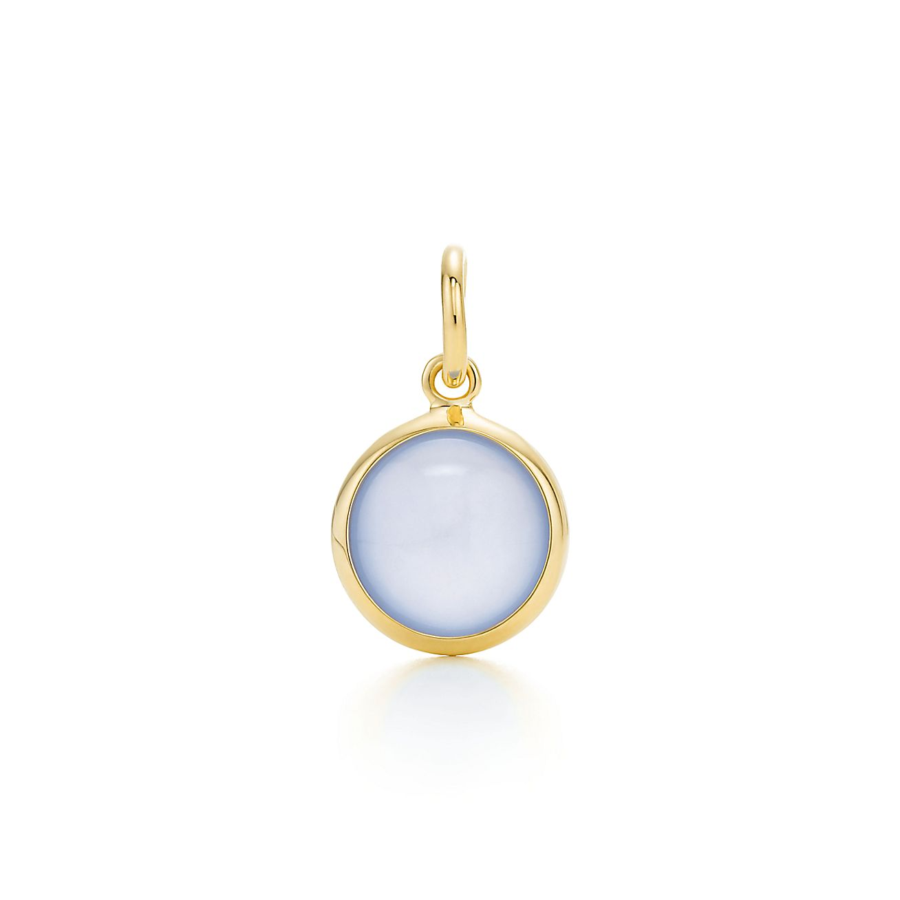 Paloma Picasso®:Blue Chalcedony<br>Dot Charm