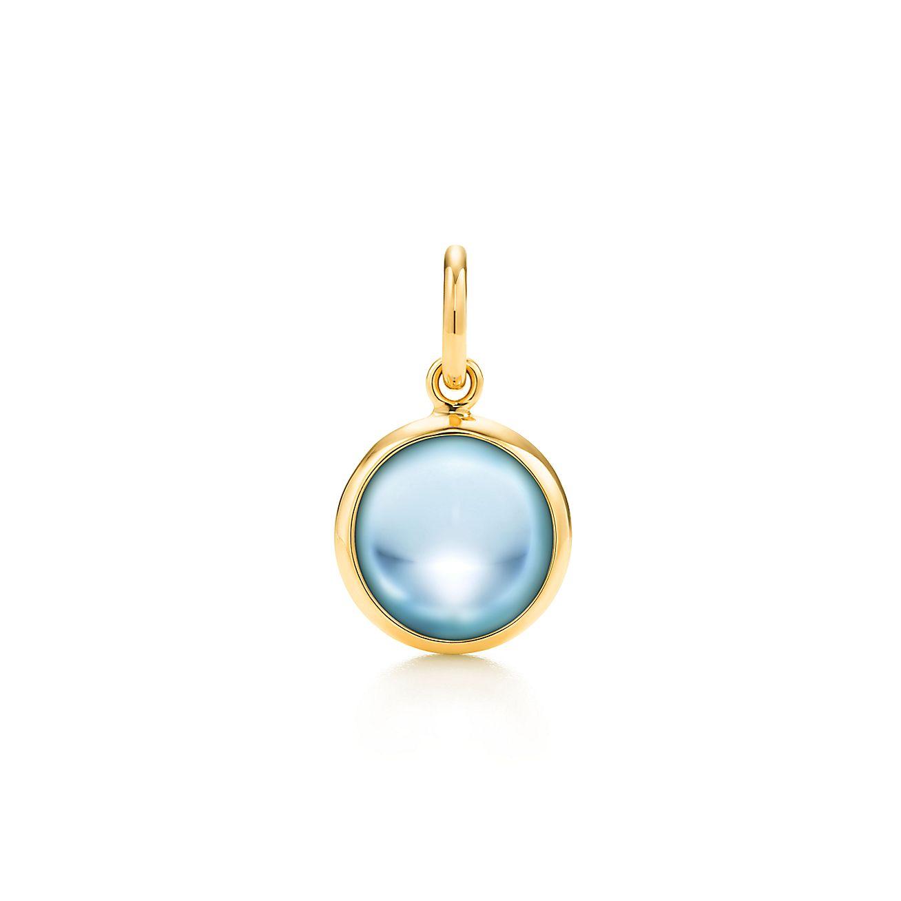 Paloma Picasso®:Blue Topaz Dot Charm