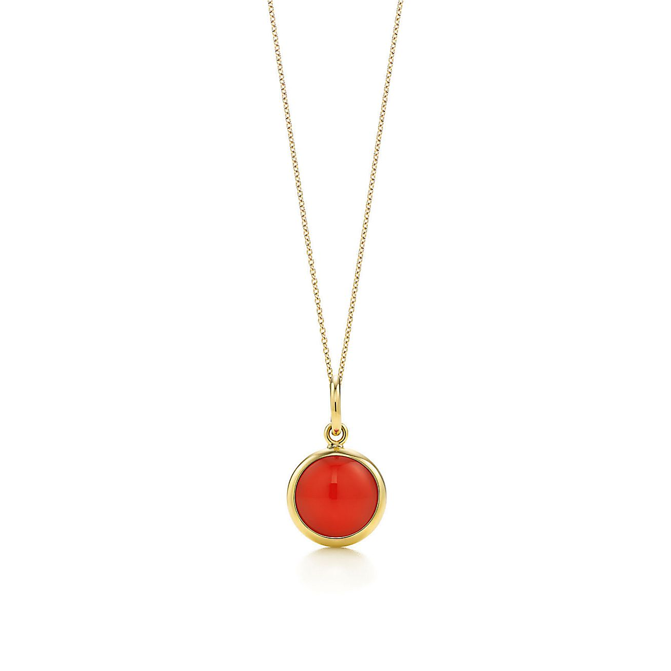 Paloma Picasso®:carnelian dot charm and chain