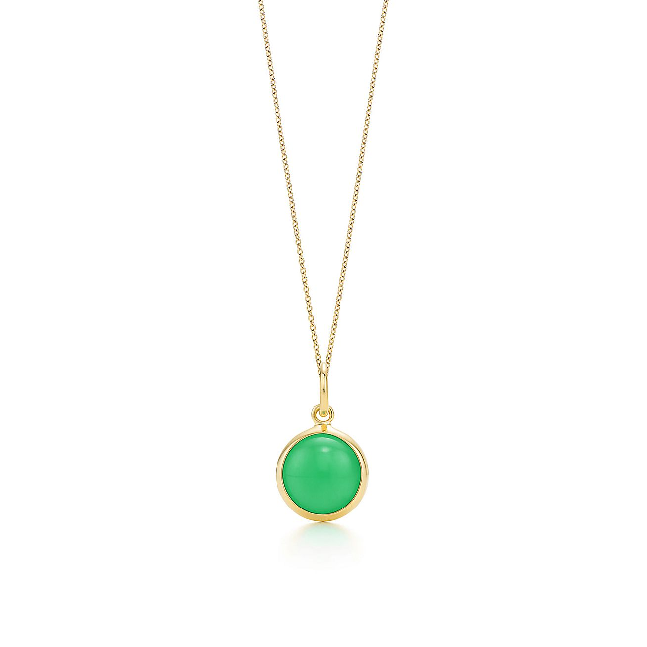 Paloma Picasso®:chrysoprase dot charm and chain