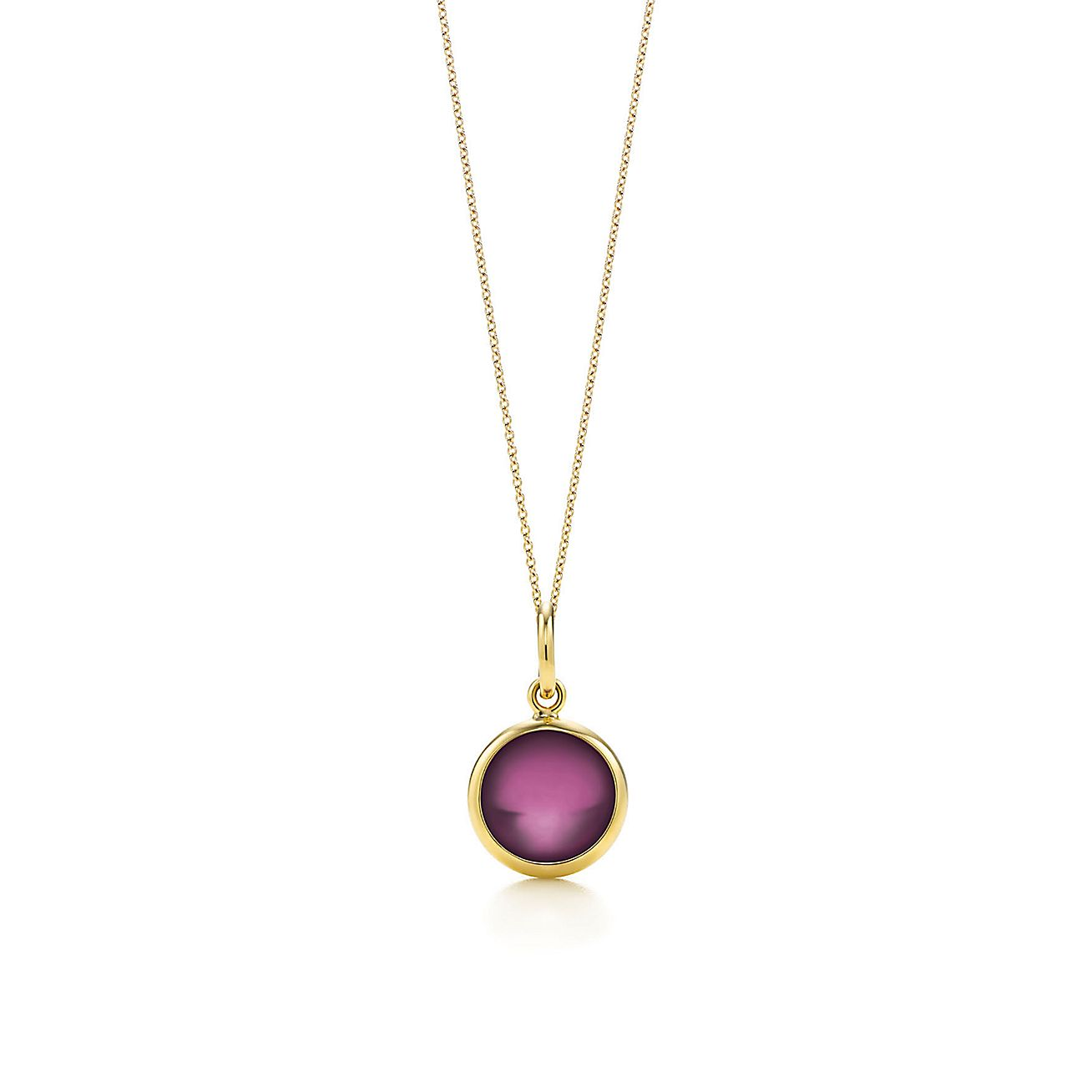 Paloma Picasso®:garnet dot charm and chain