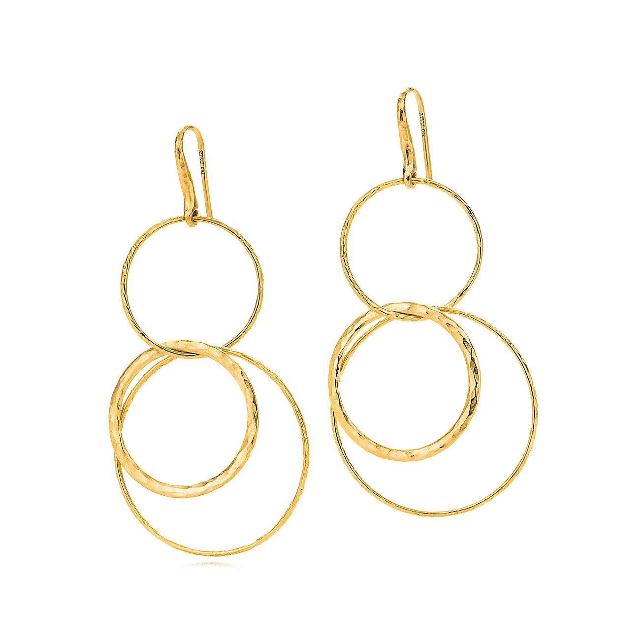 Paloma Picasso®:Hammered Circles<br>Earrings