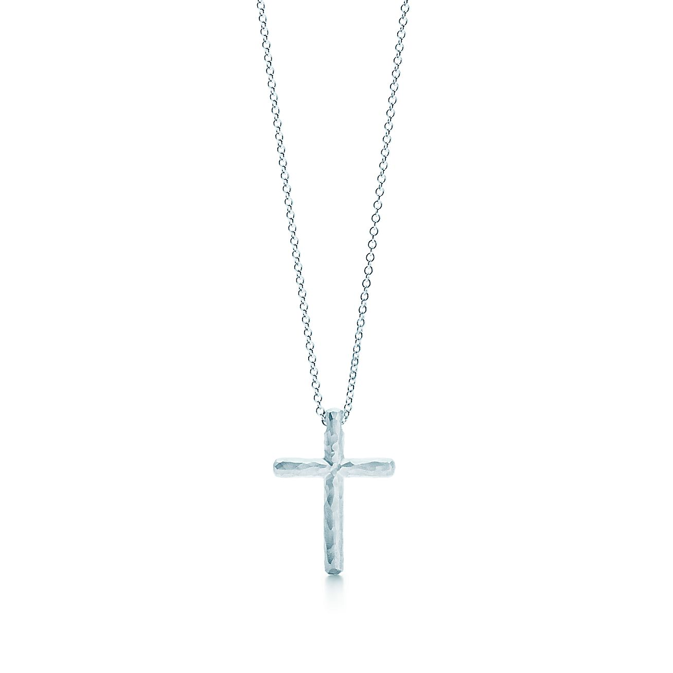 Paloma Picasso®:Hammered Cross Pendant