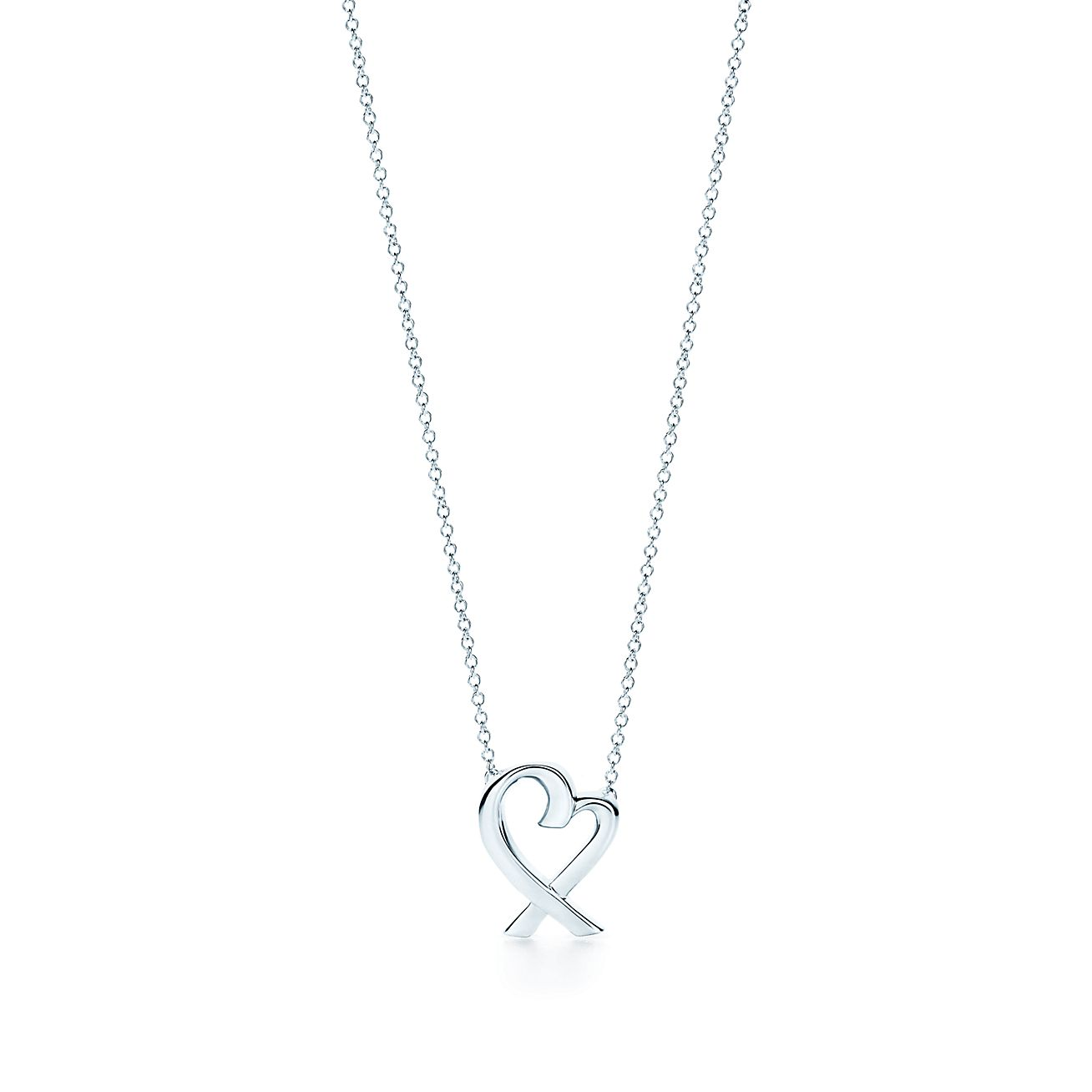 Paloma picasso loving heart pendant in sterling silver small paloma picassoloving heart pendant audiocablefo