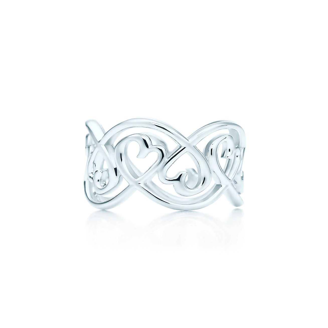 Jewelry Rings Paloma Picasso Loving Heart Swirl Band Ring Grp05476 Tiffany Rings Loving Heart