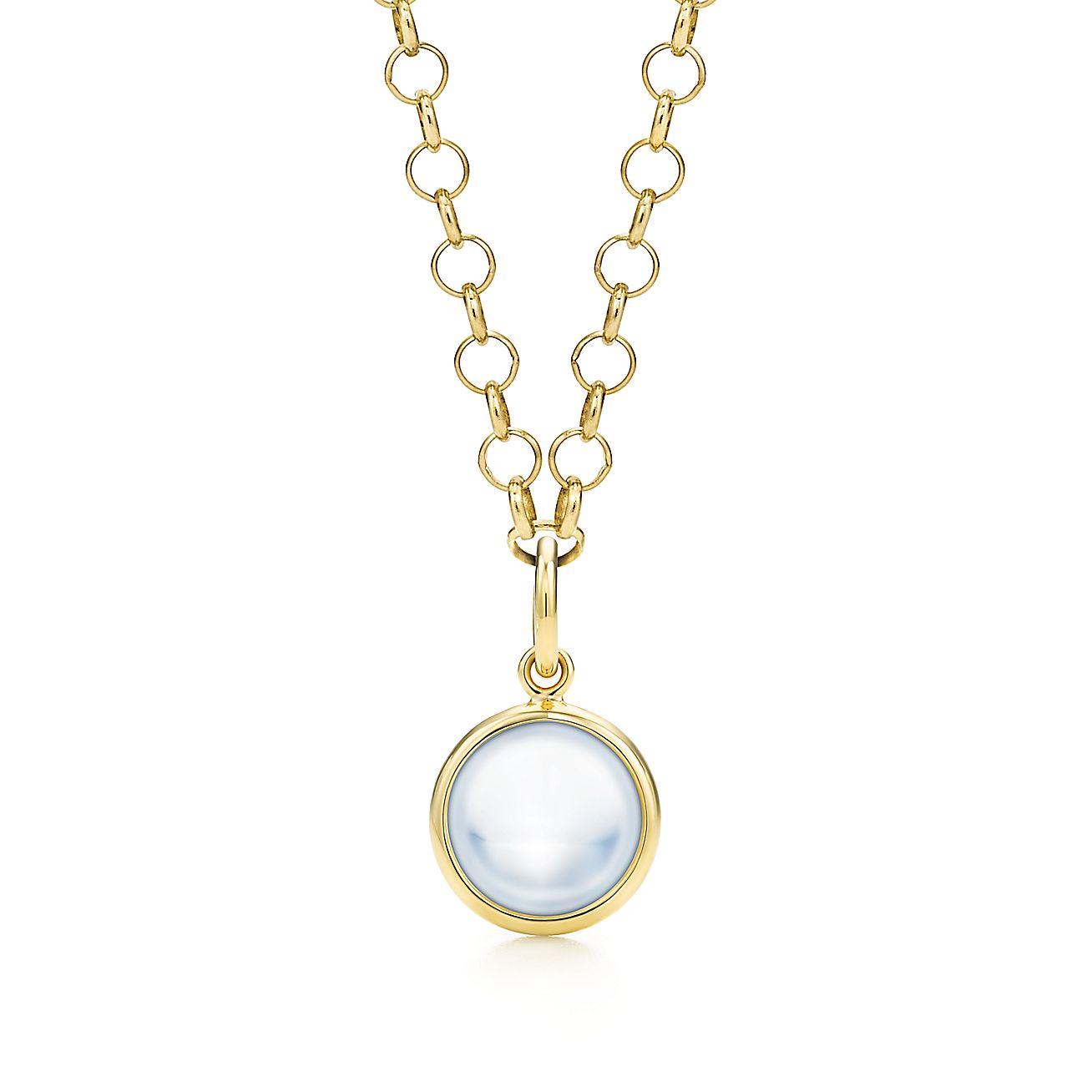 Paloma Picasso®:Milky Quartz Dot Charm and Chain