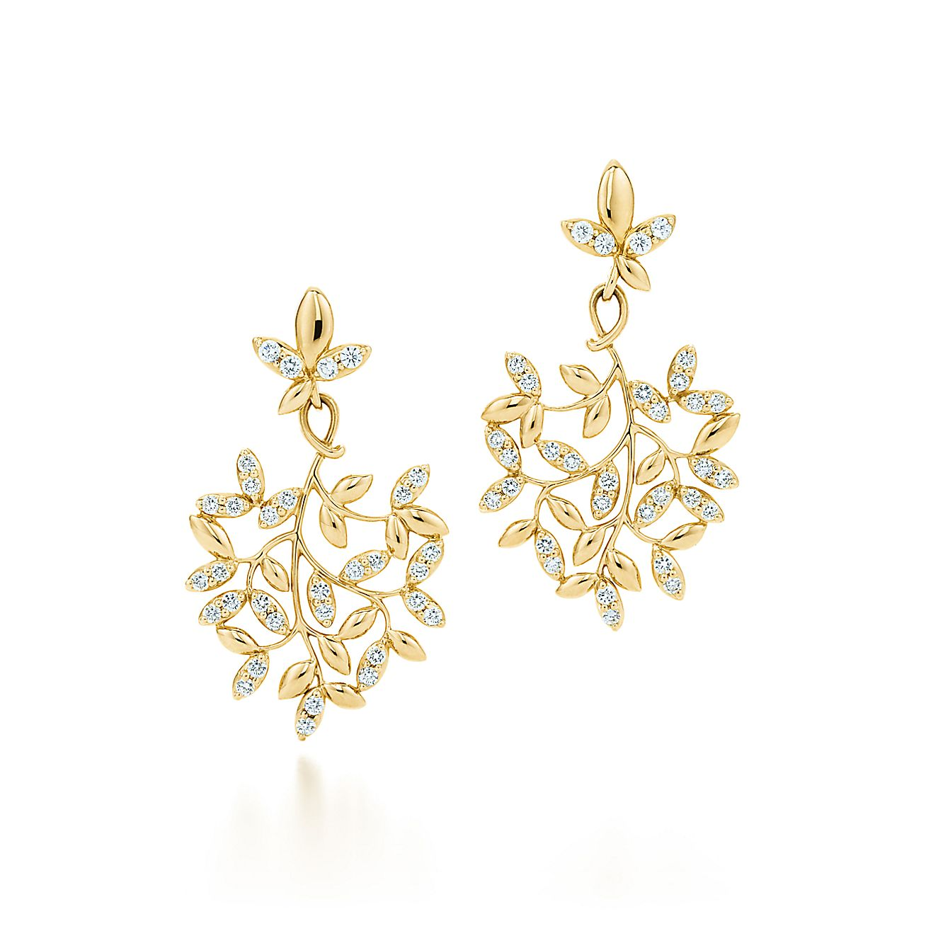 Paloma Picasso®:Olive Leaf Drop Earrings