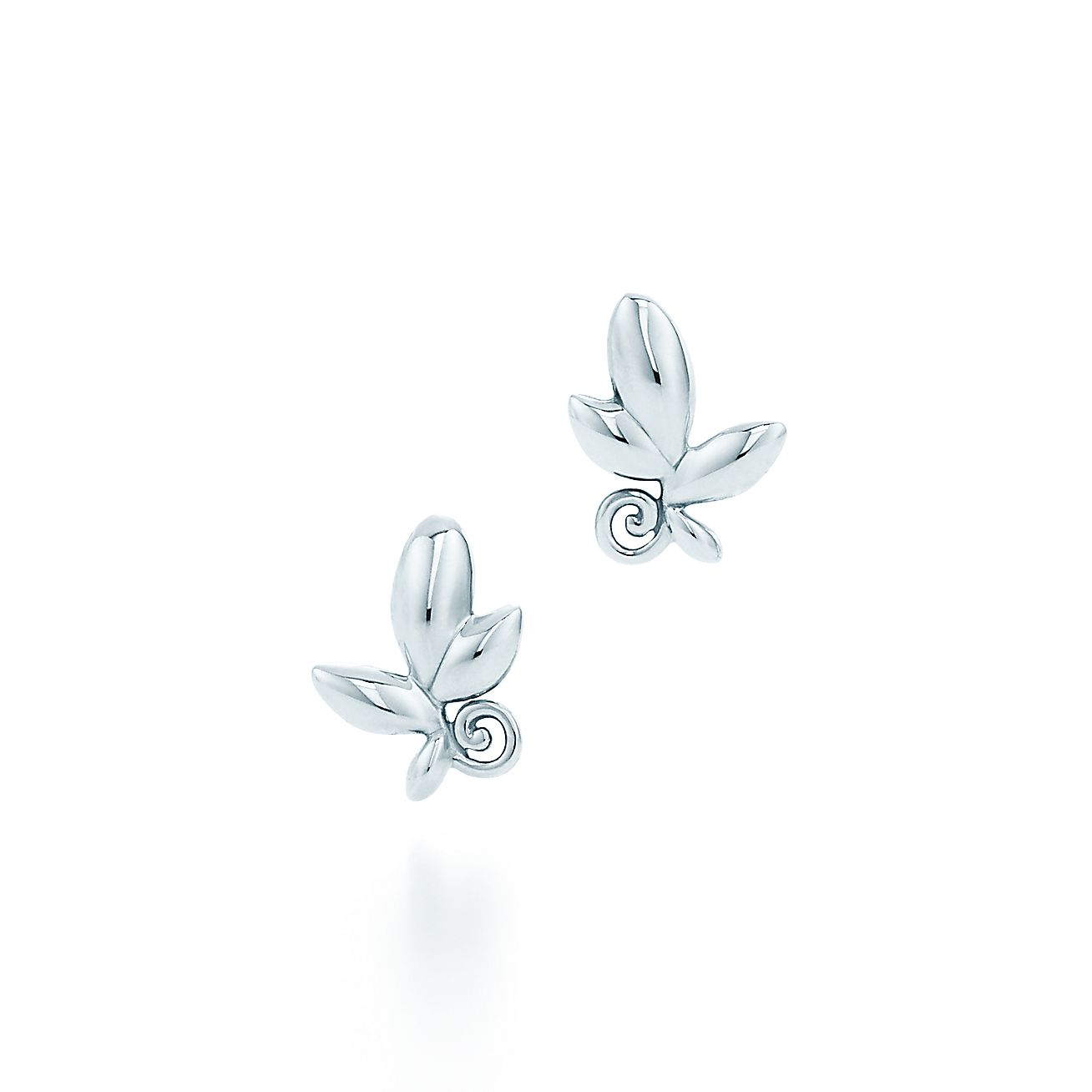 Paloma Picasso® Olive Leaf Earrings In Sterling Silver  Tiffany & Co