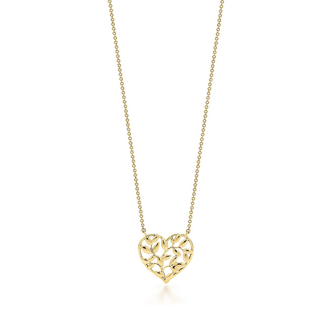 Paloma Picasso®:Olive Leaf Heart Pendant