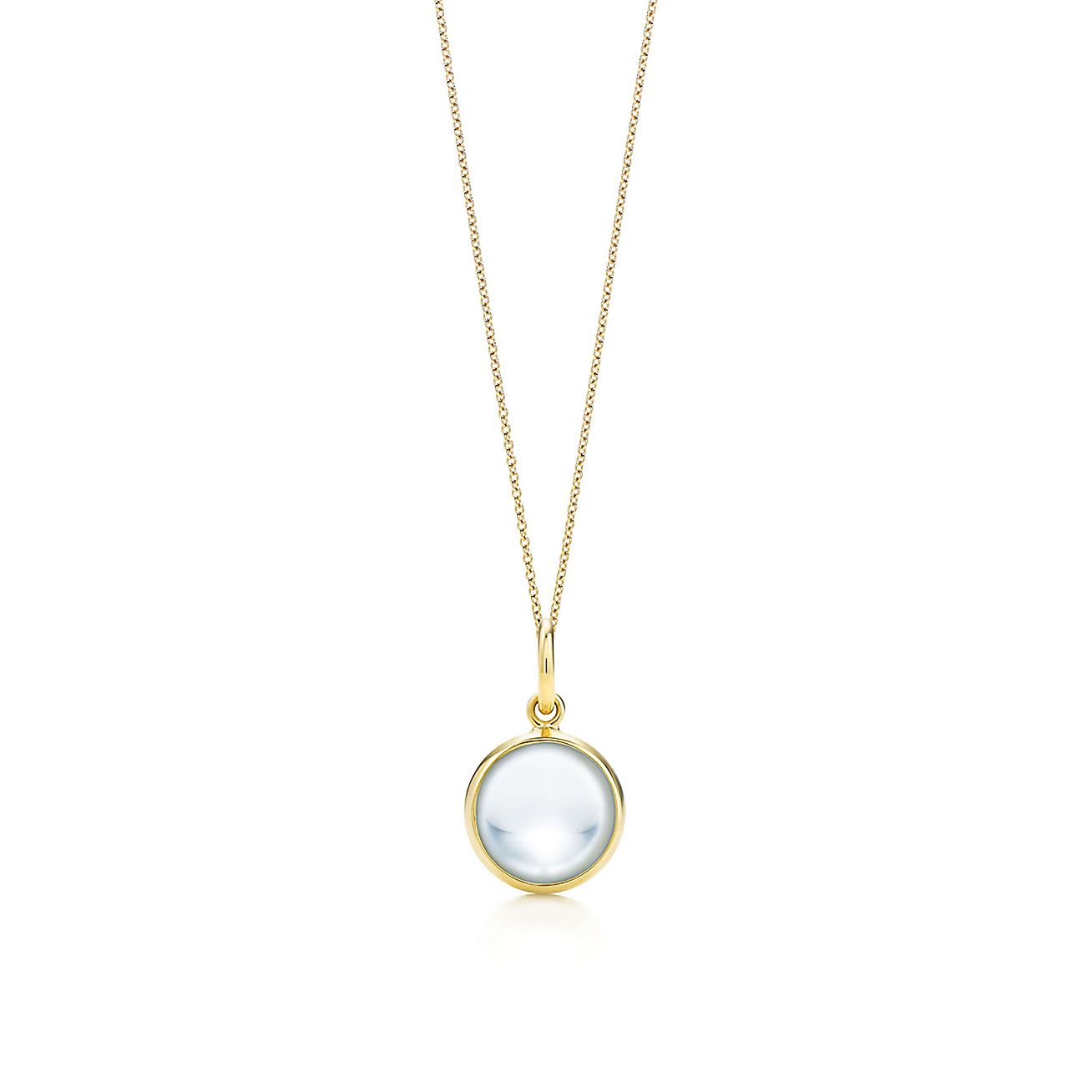 Paloma Picasso®:rock crystal dot charm and chain