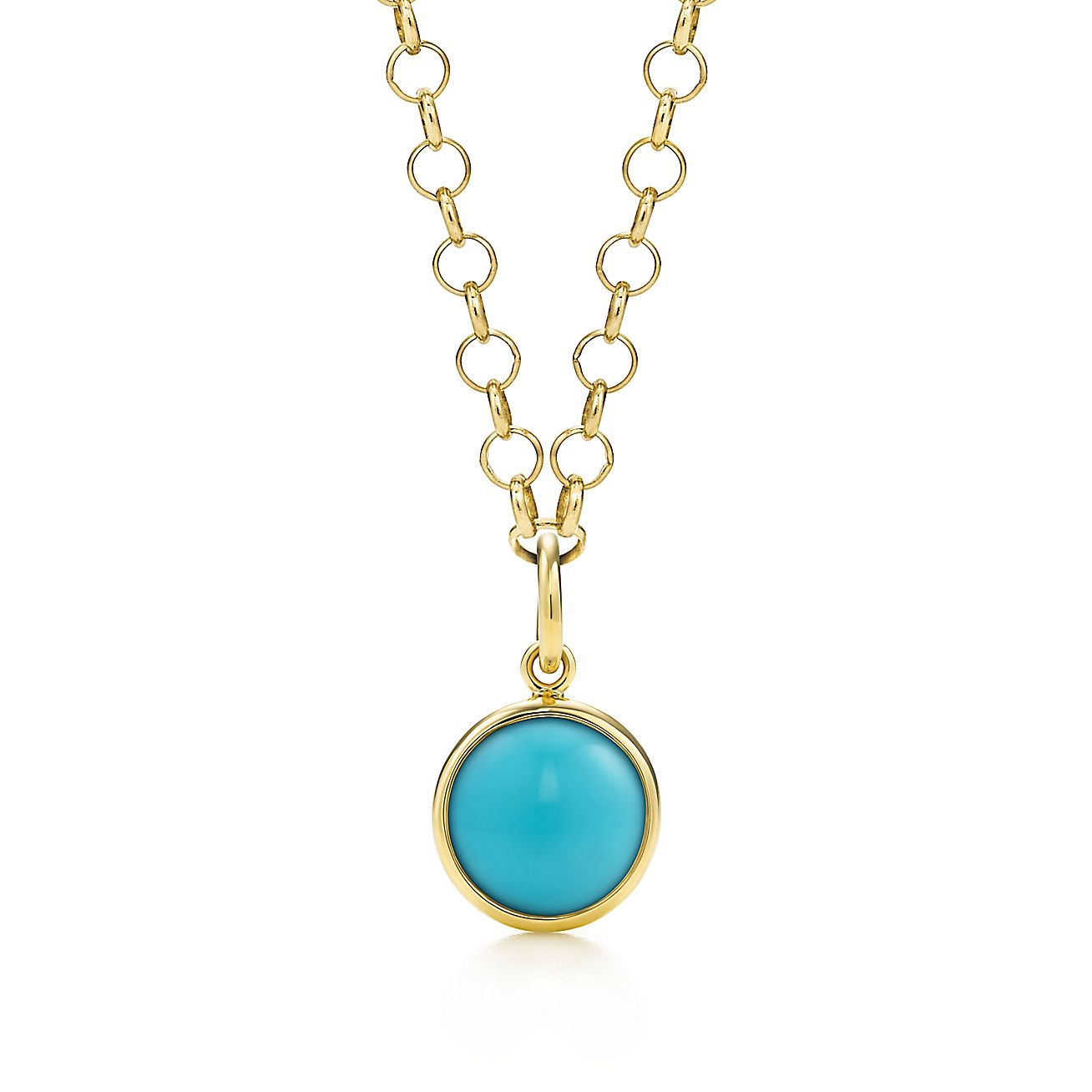 Paloma Picasso®:Turquoise Dot Charm and Chain