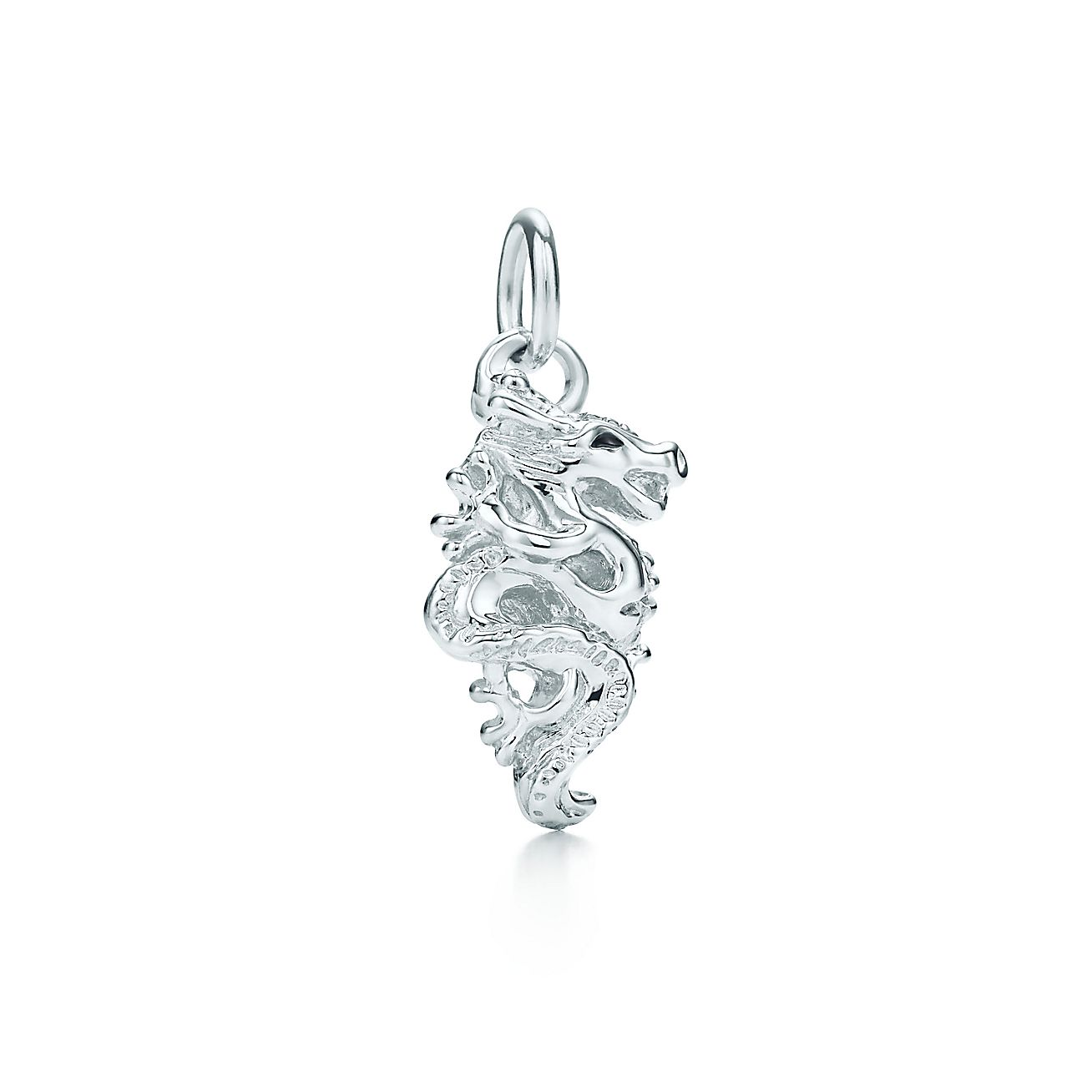Paloma's Chinese Zodiac dragon charm in sterling silver