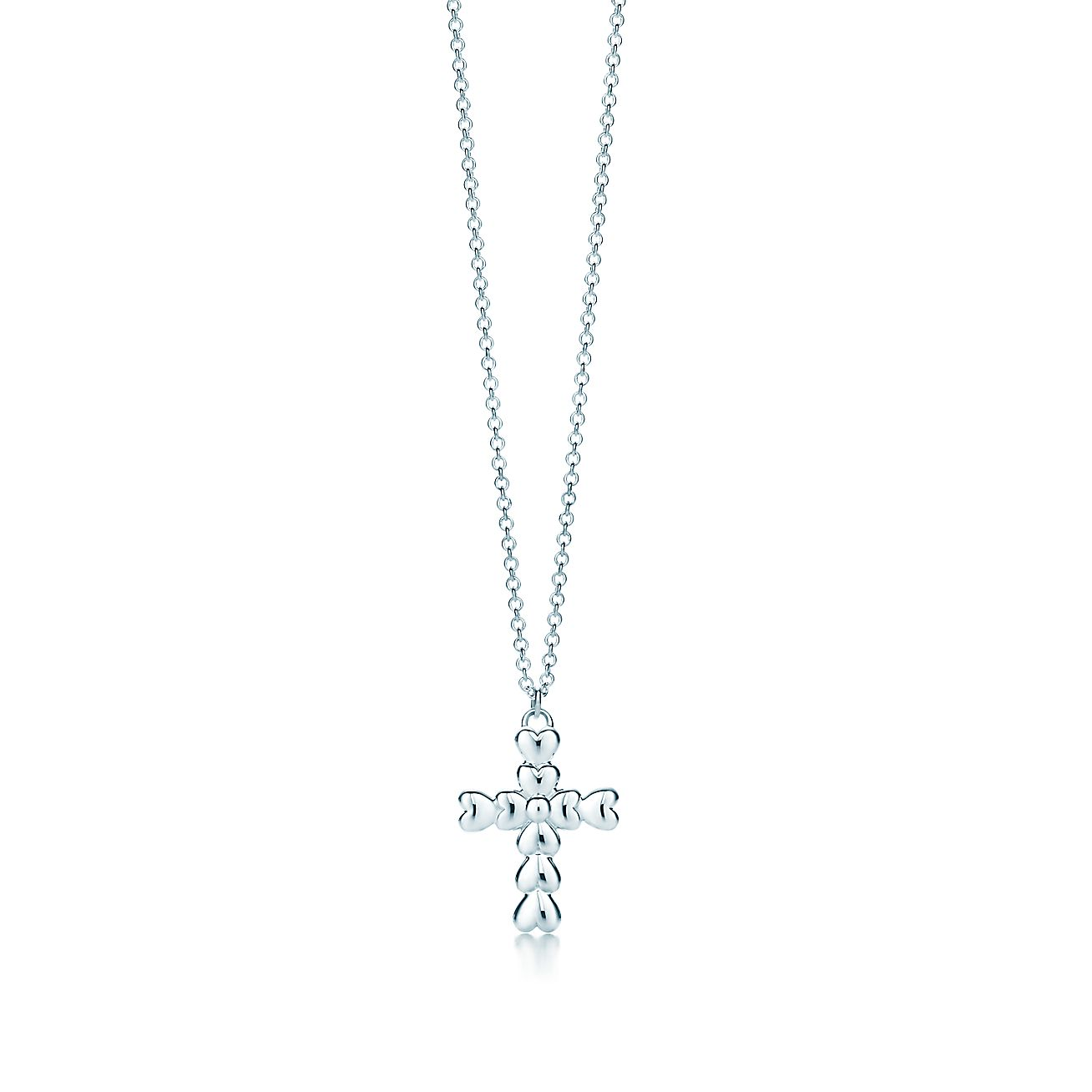 Paloma's Crown of Hearts:Cross Pendant