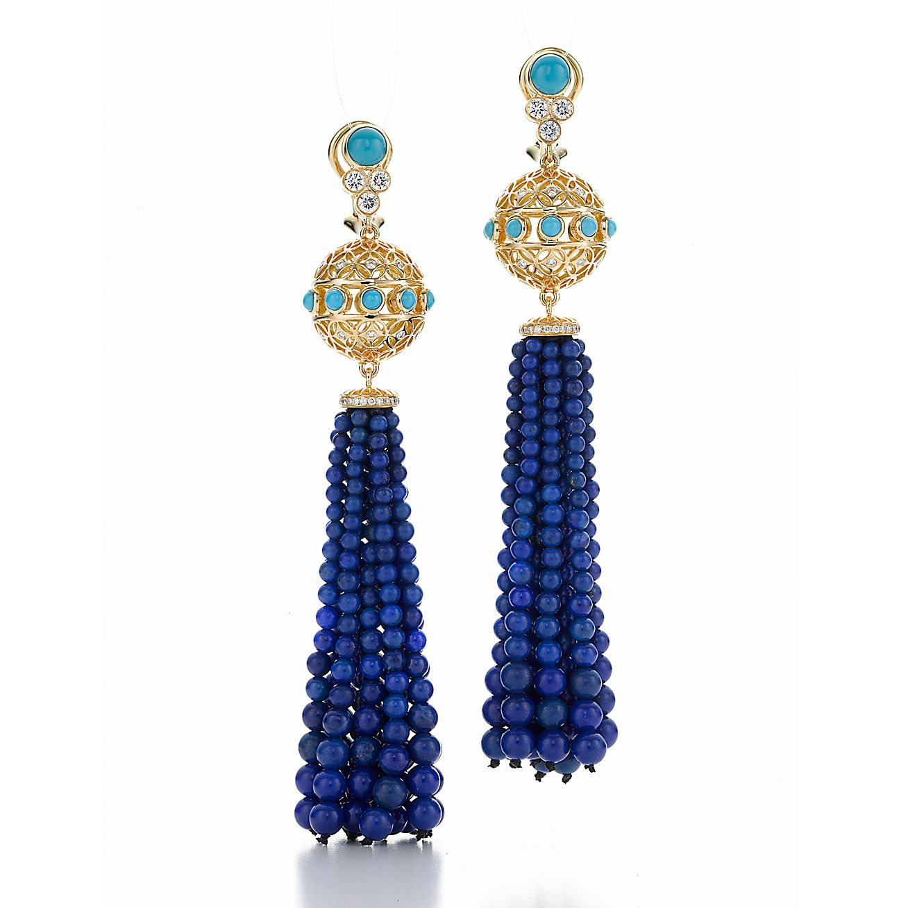 Paloma's Marrakesh<br>tassel earrings