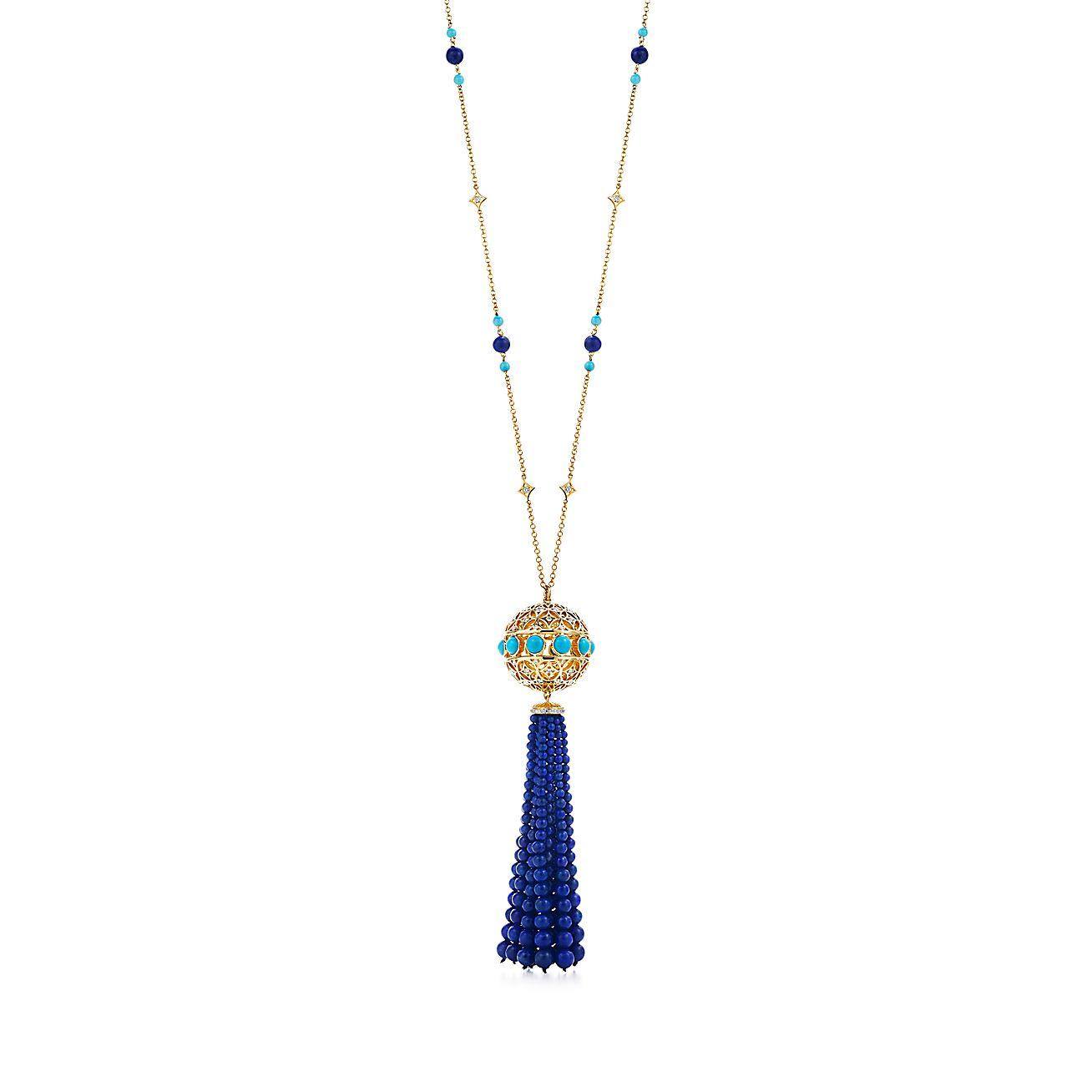 Paloma's Marrakesh<br>tassel pendant