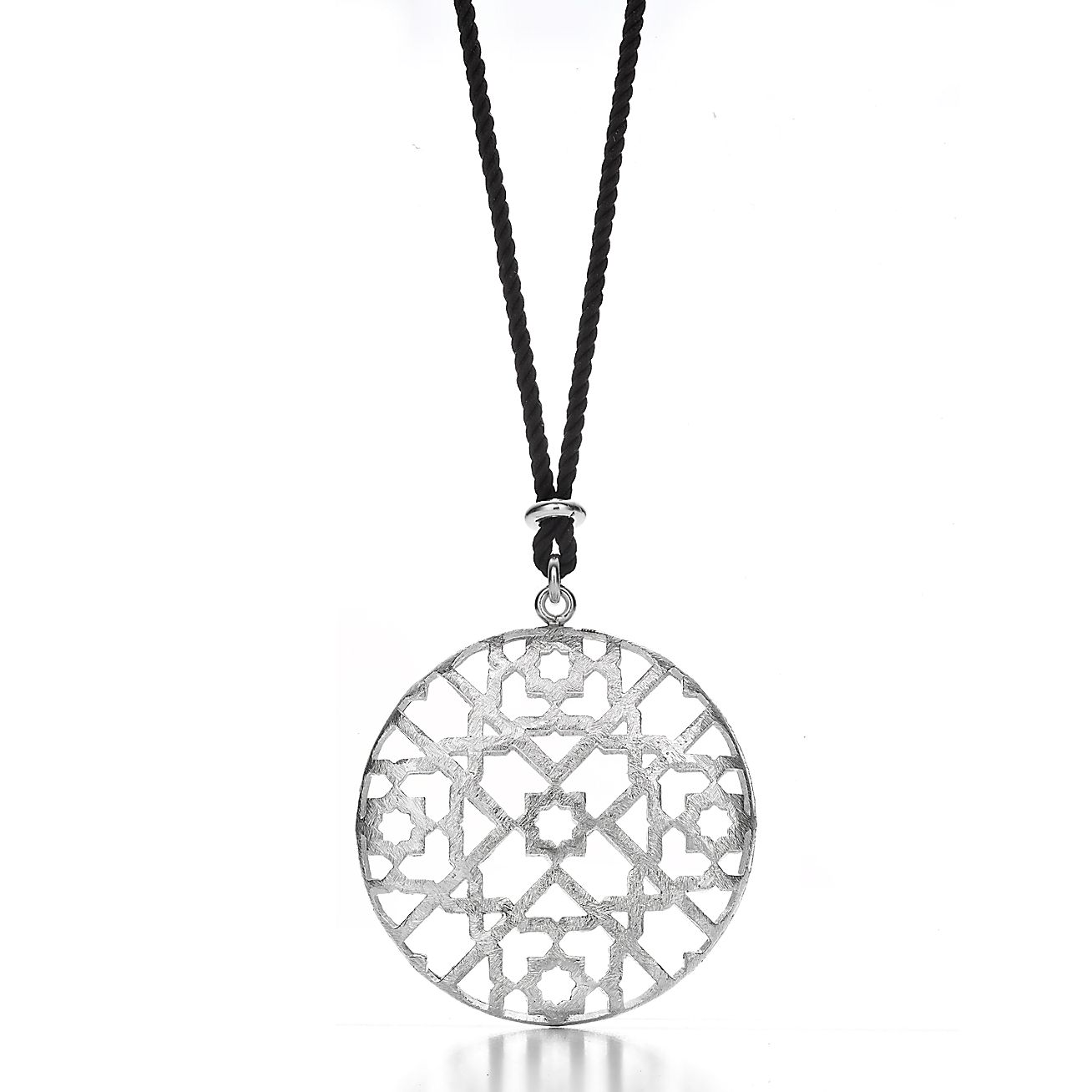 Paloma's Marrakesh dome pendant in sterling silver