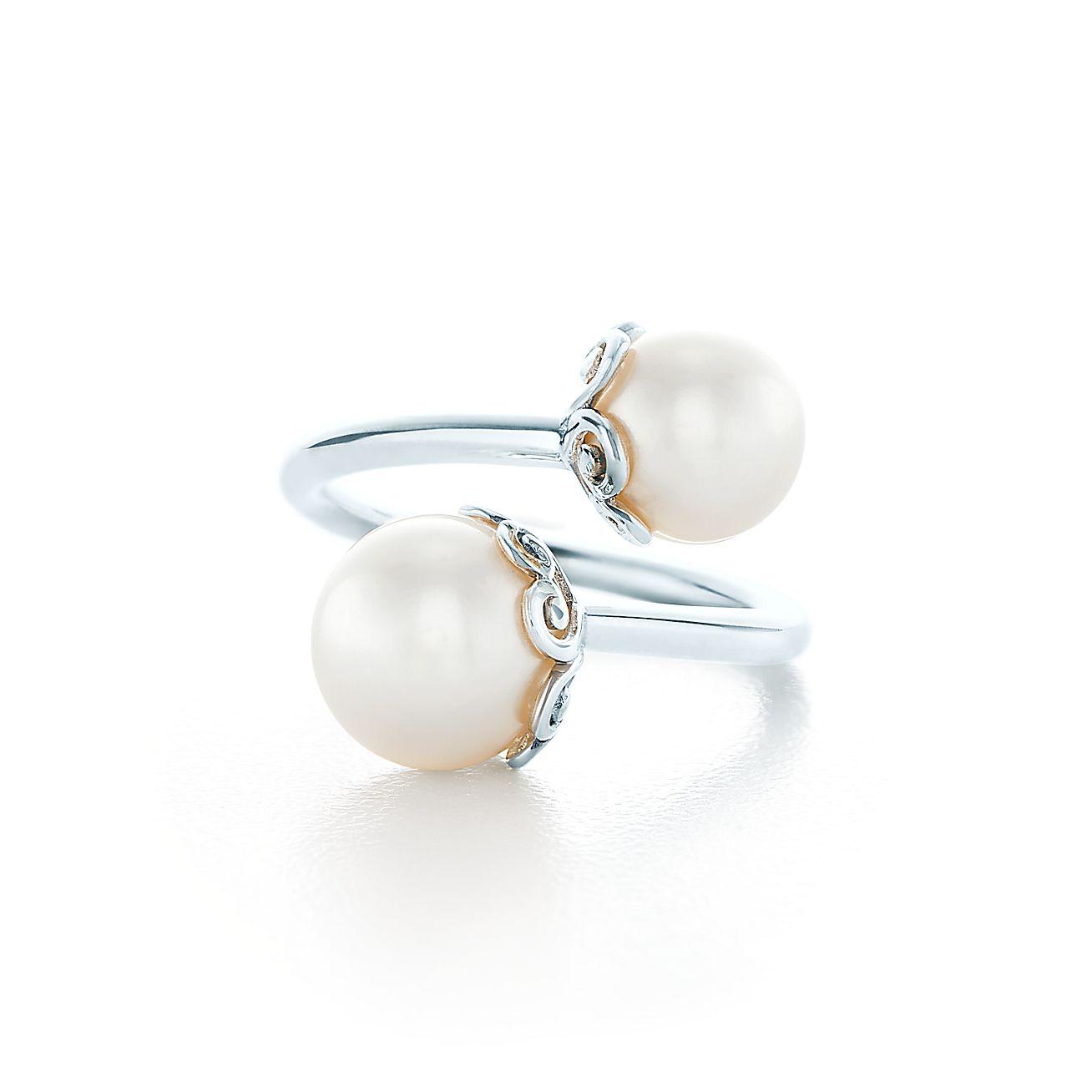 Paloma's Venezia Goldoni Heart Pearl Ring In Sterling Silver  Tiffany &  Co