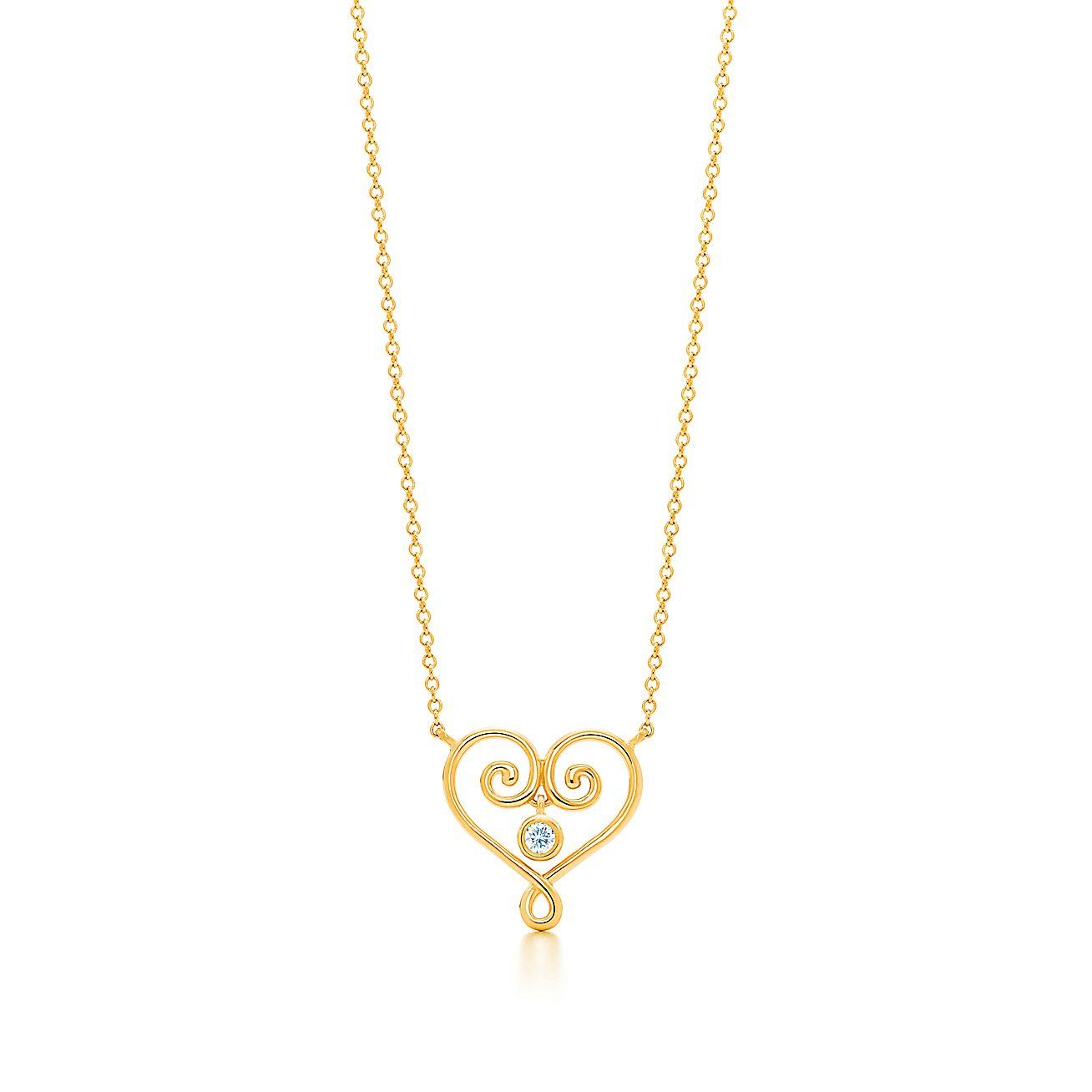 Paloma's Venezia:Goldoni Heart Pendant