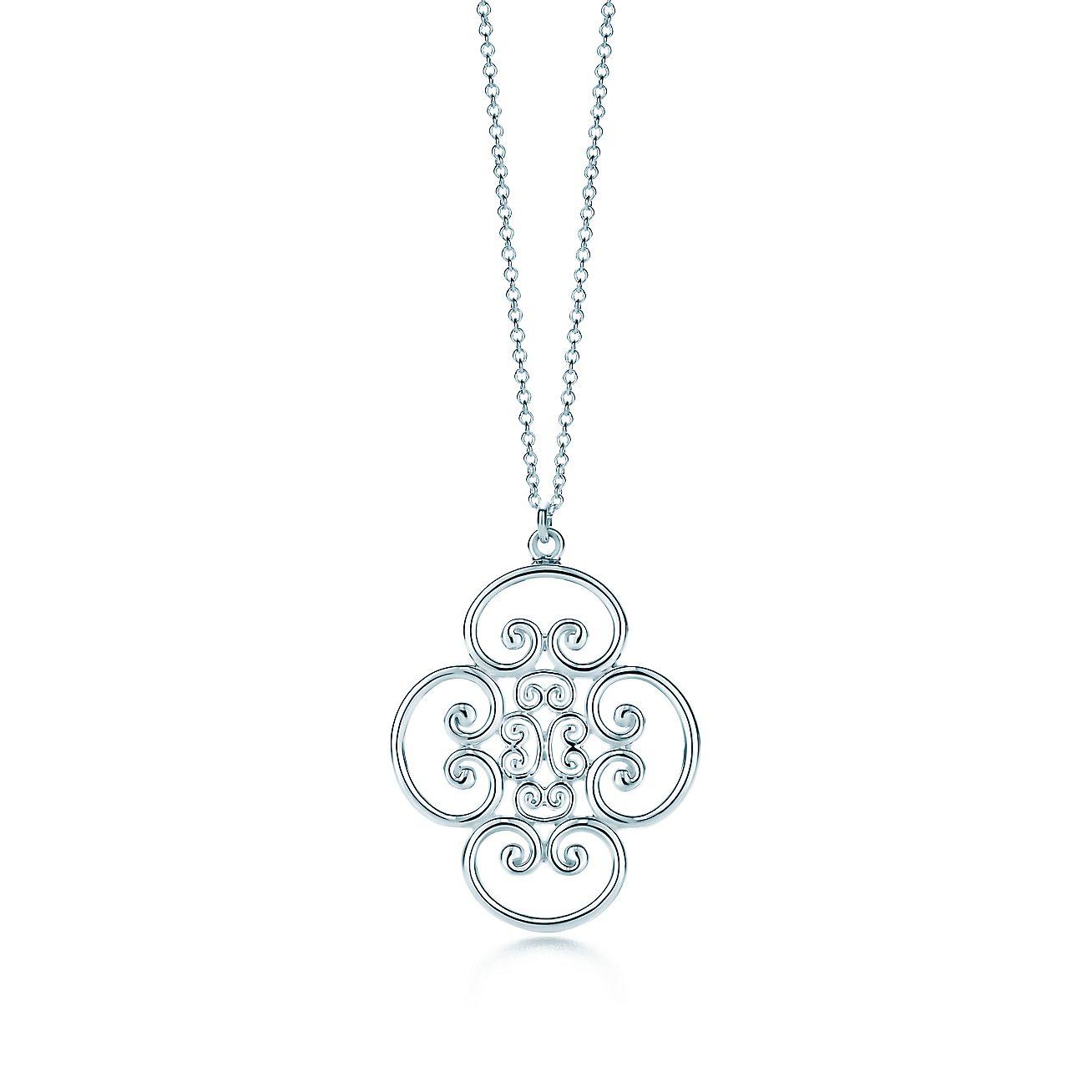 Paloma's Venezia Goldoni quadruplo pendant in sterling