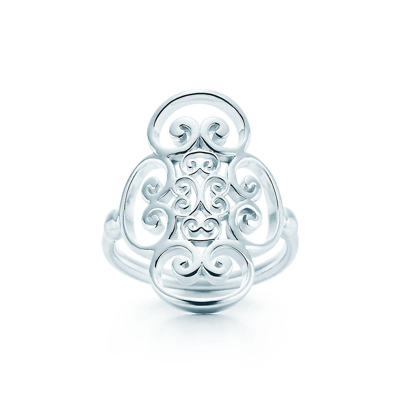 paloma 39 s venezia goldoni quadruplo ring in sterling silver tiffany co. Black Bedroom Furniture Sets. Home Design Ideas