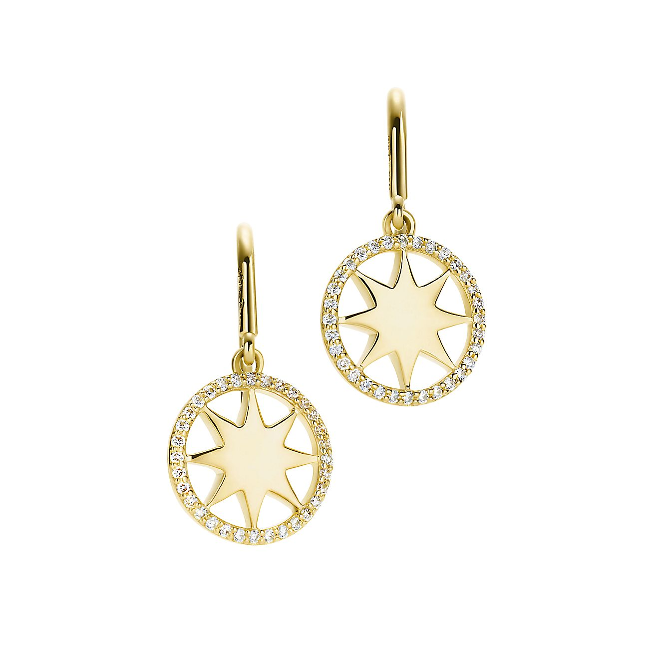 Paloma's Venezia:Stella Diamond Rim Earrings
