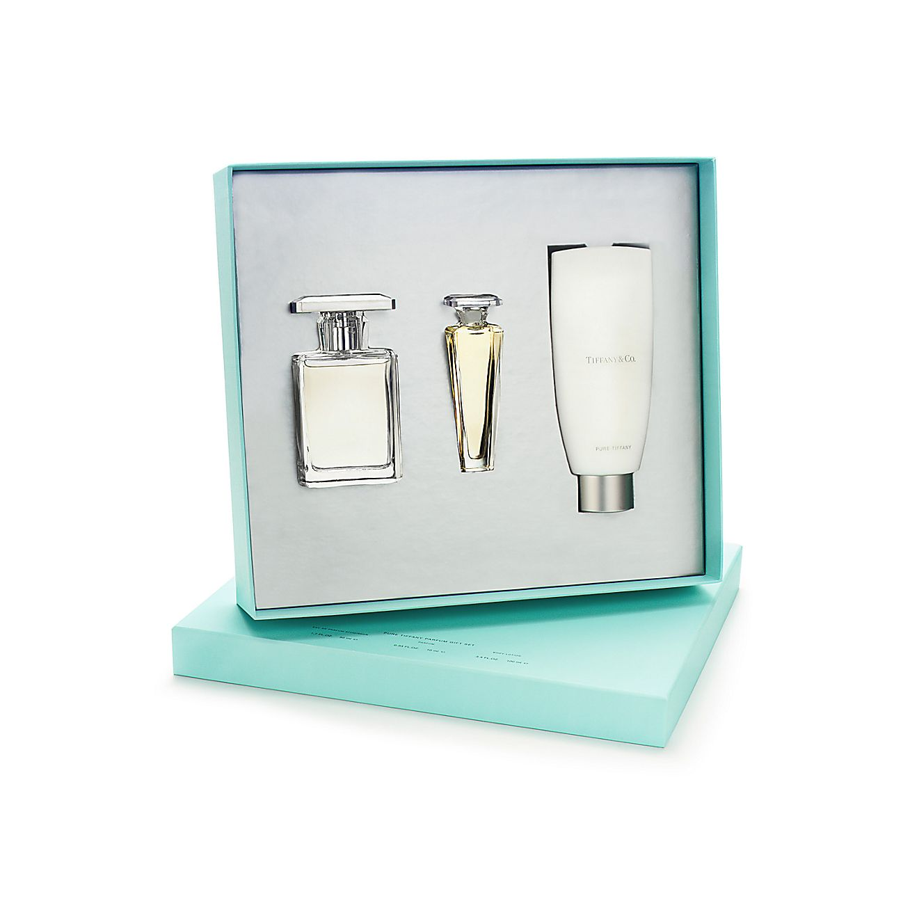 Pure TiffanyR Gift Set With Eau De Parfum Spray Parfum Atomiseur And Lotion