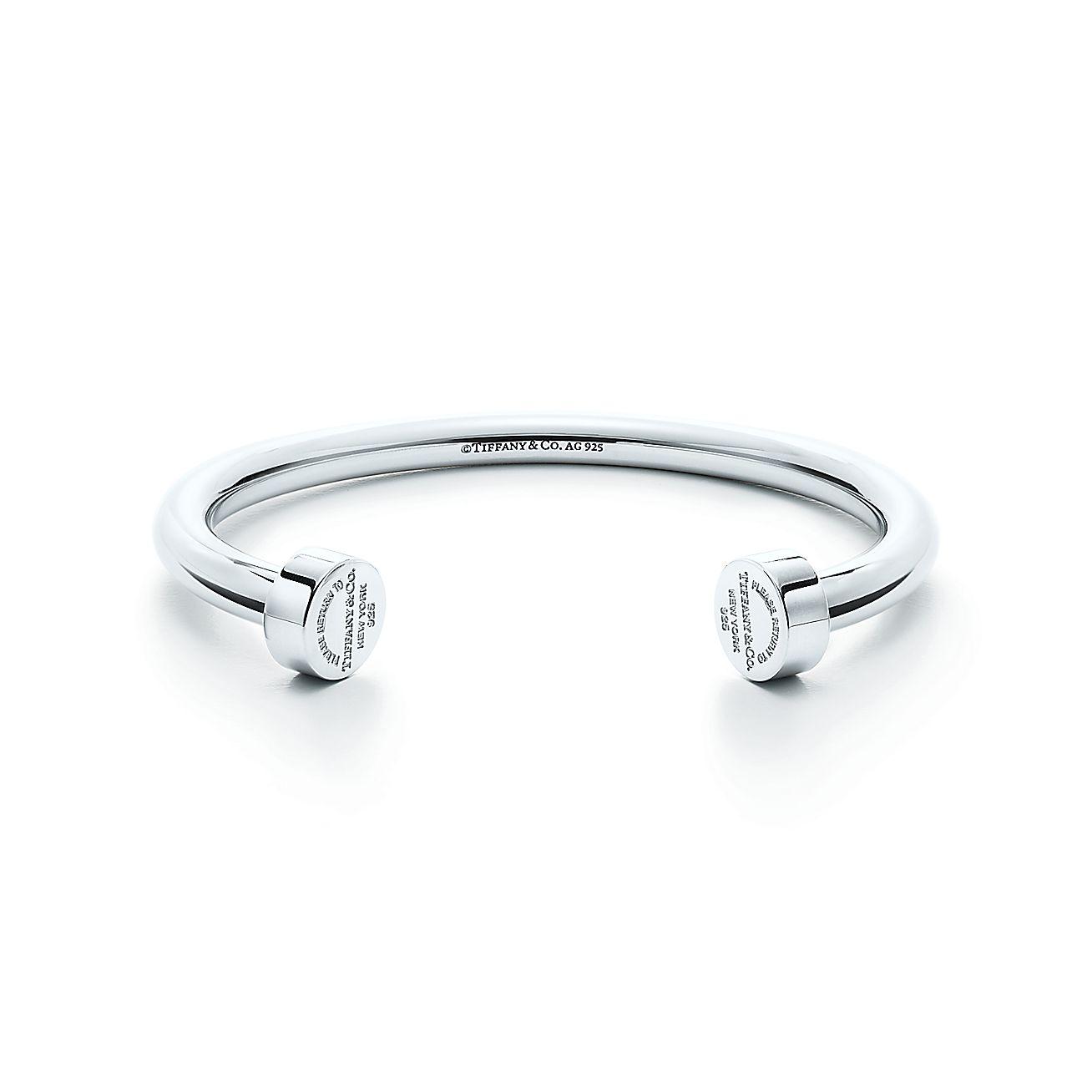 Return to Tiffany™: Armreif mit kreisförmigen Enden