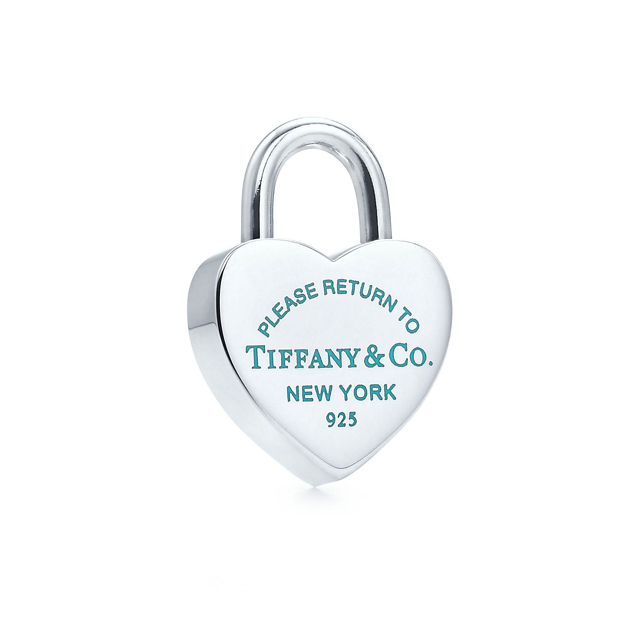 Return to Tiffany™<br>Heart lock charm