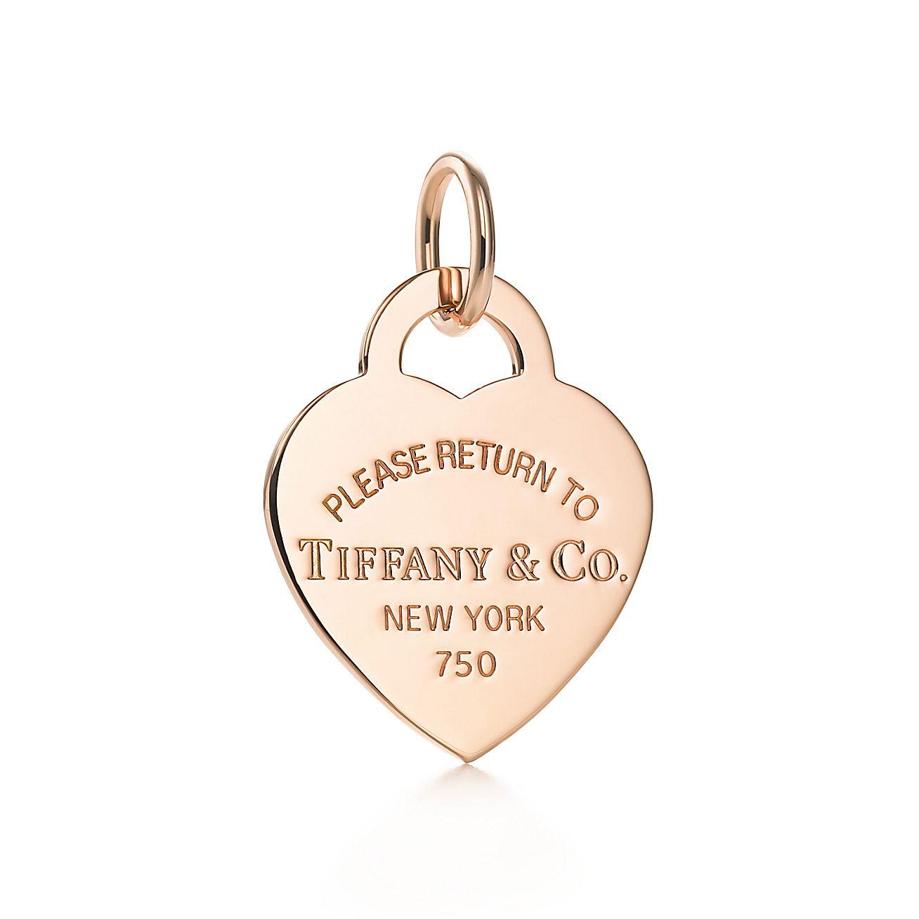 Return to Tiffany™<br>heart tag charm