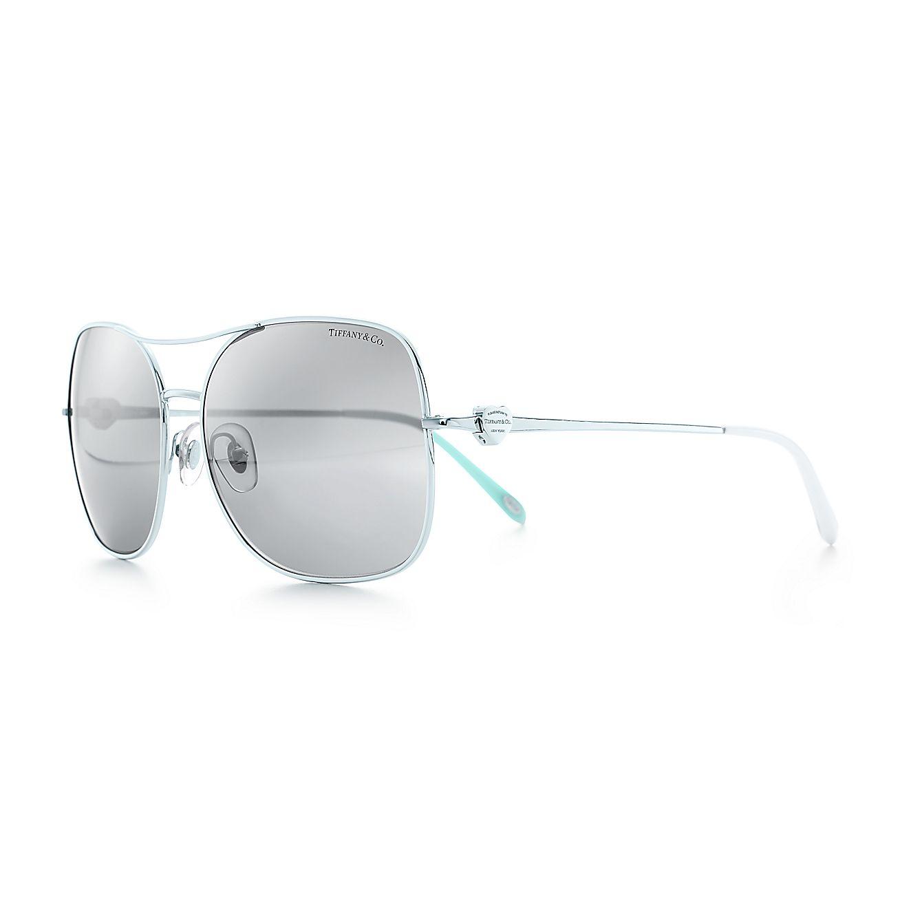 Return to Tiffany®:Aviator Sunglasses