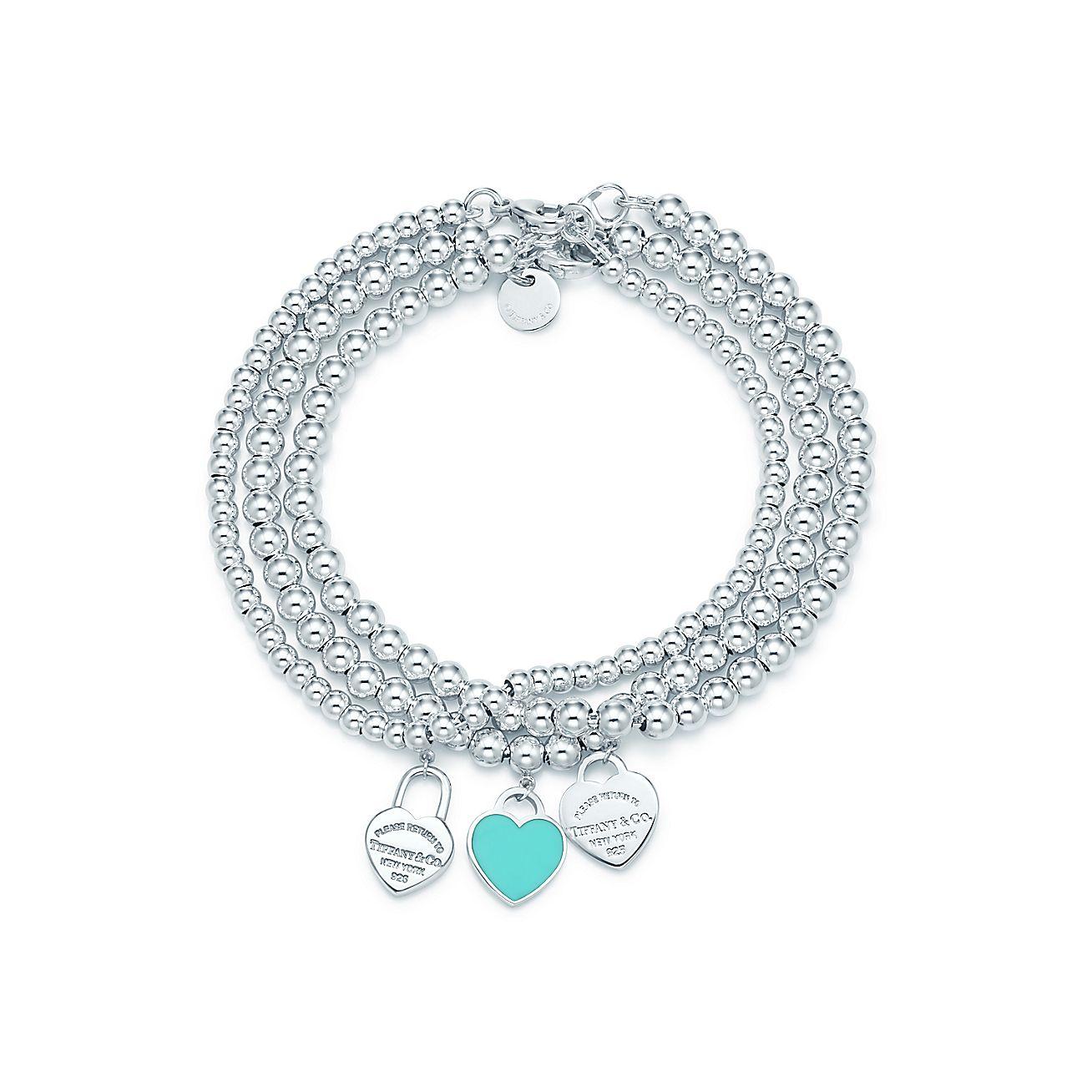 Return to Tiffany™:bead bracelets