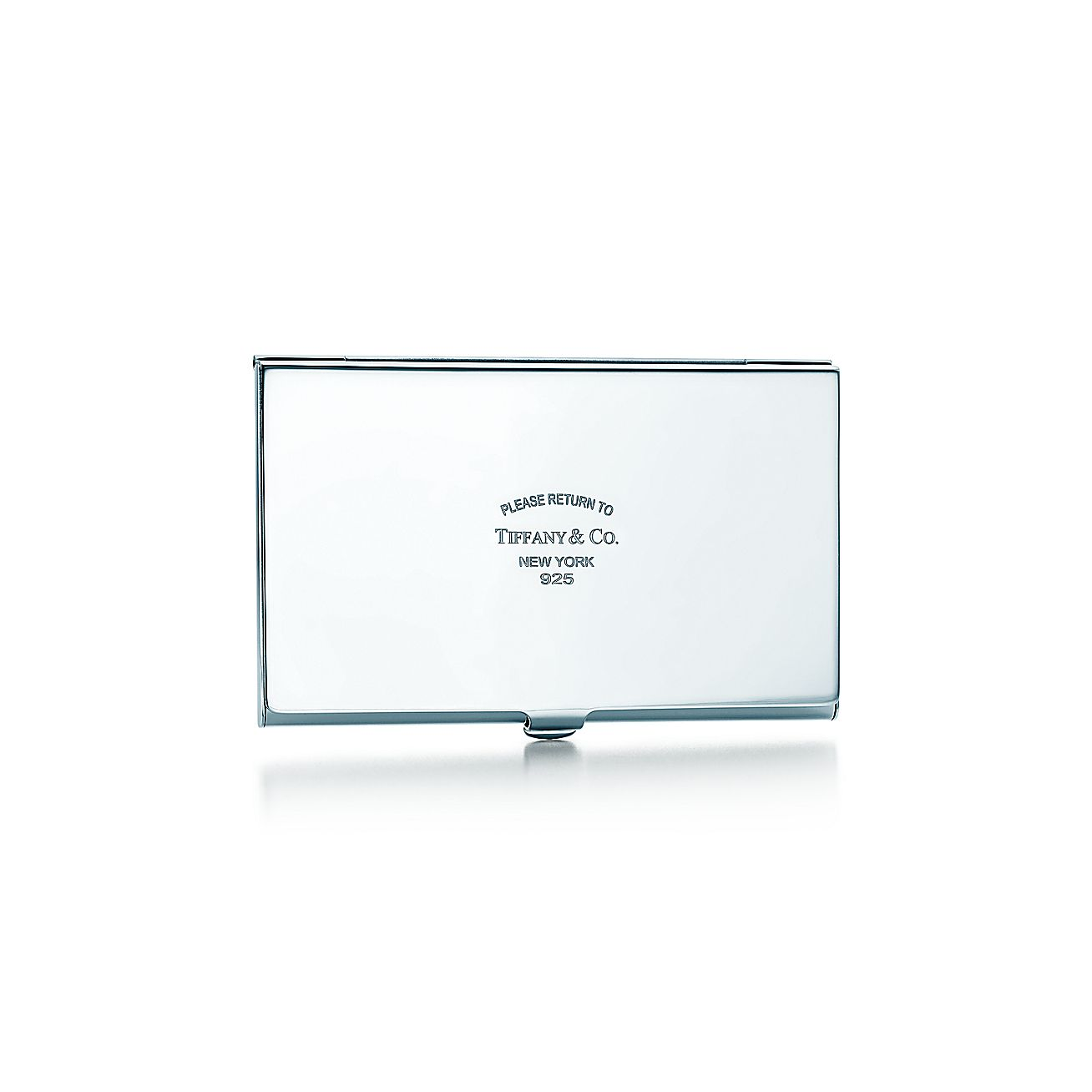 Return to tiffanyr business card case in sterling silver for Tiffany and co business card holder