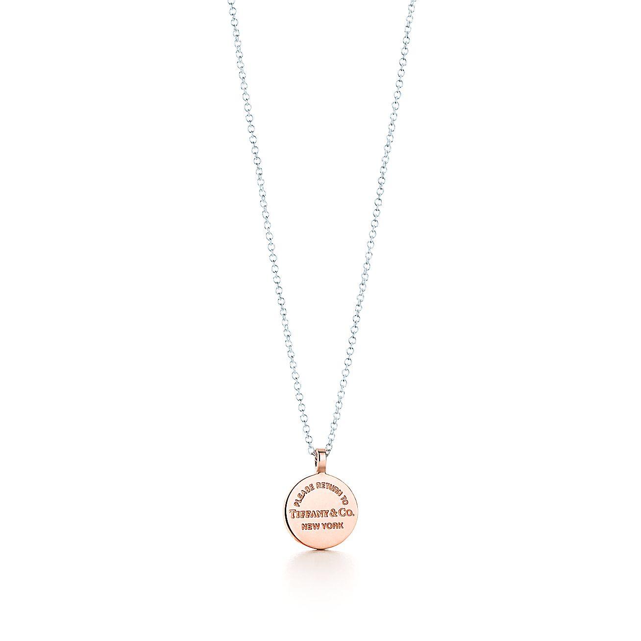 Return to Tiffany®:Circle Pendant