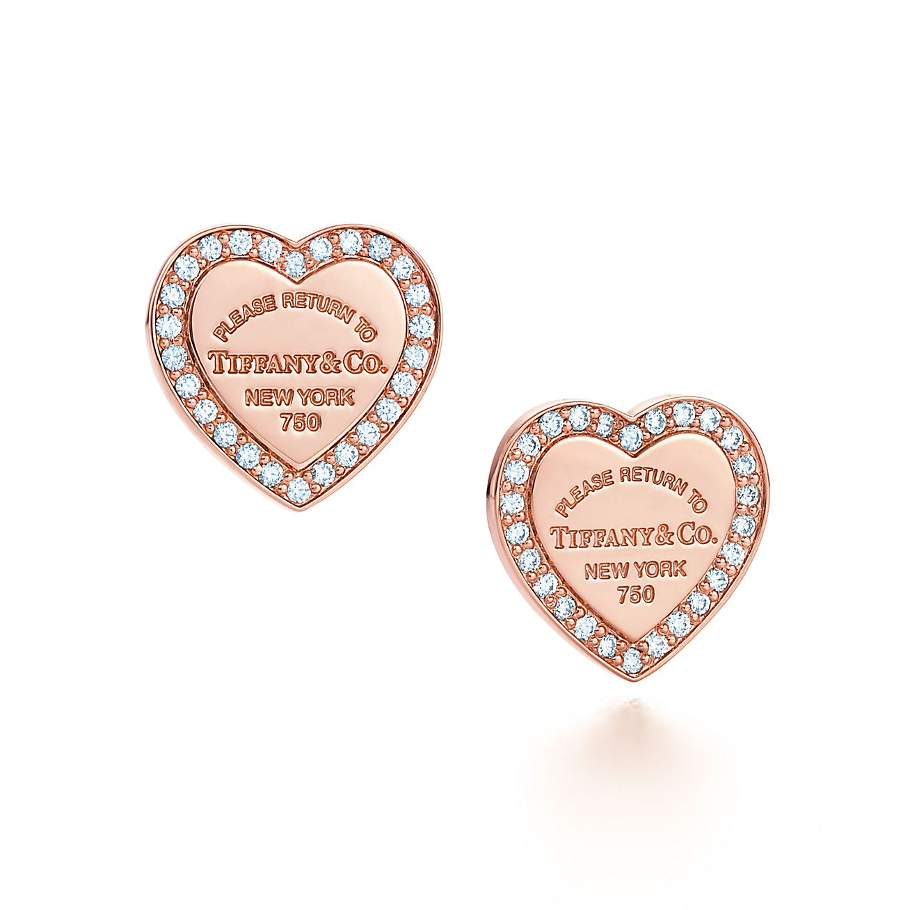 Return to Tiffany®:Heart Earrings